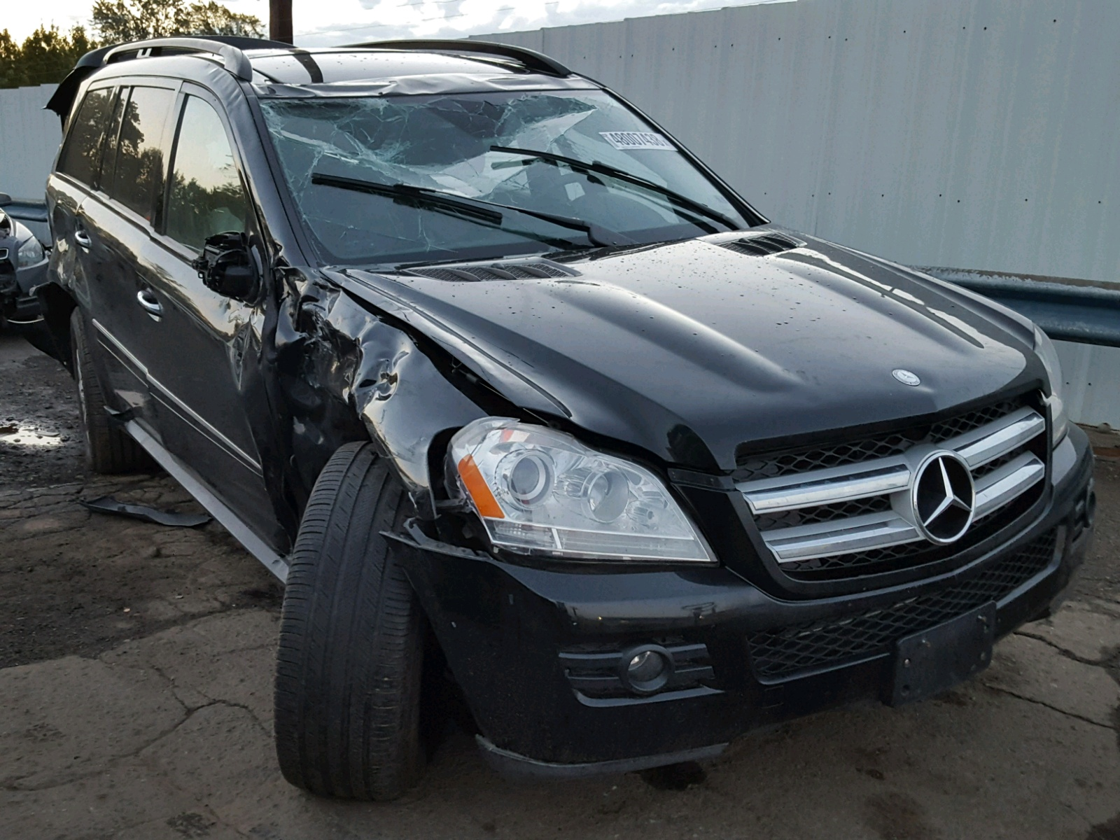 Salvage 2009 Mercedes-Benz GL 450 4MATIC for sale