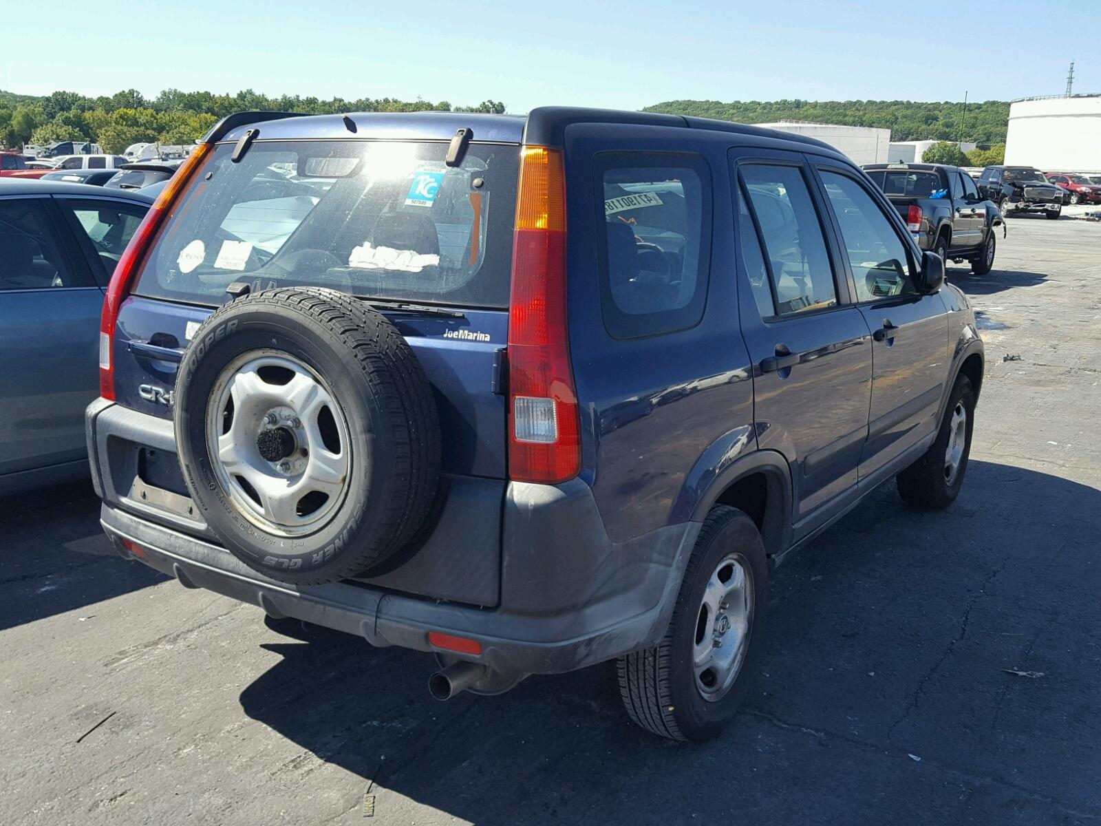 2002 Honda CR V LX Lot # 47190118