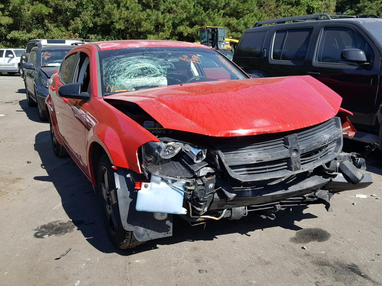 Salvage 2009 Dodge AVENGER SE for sale