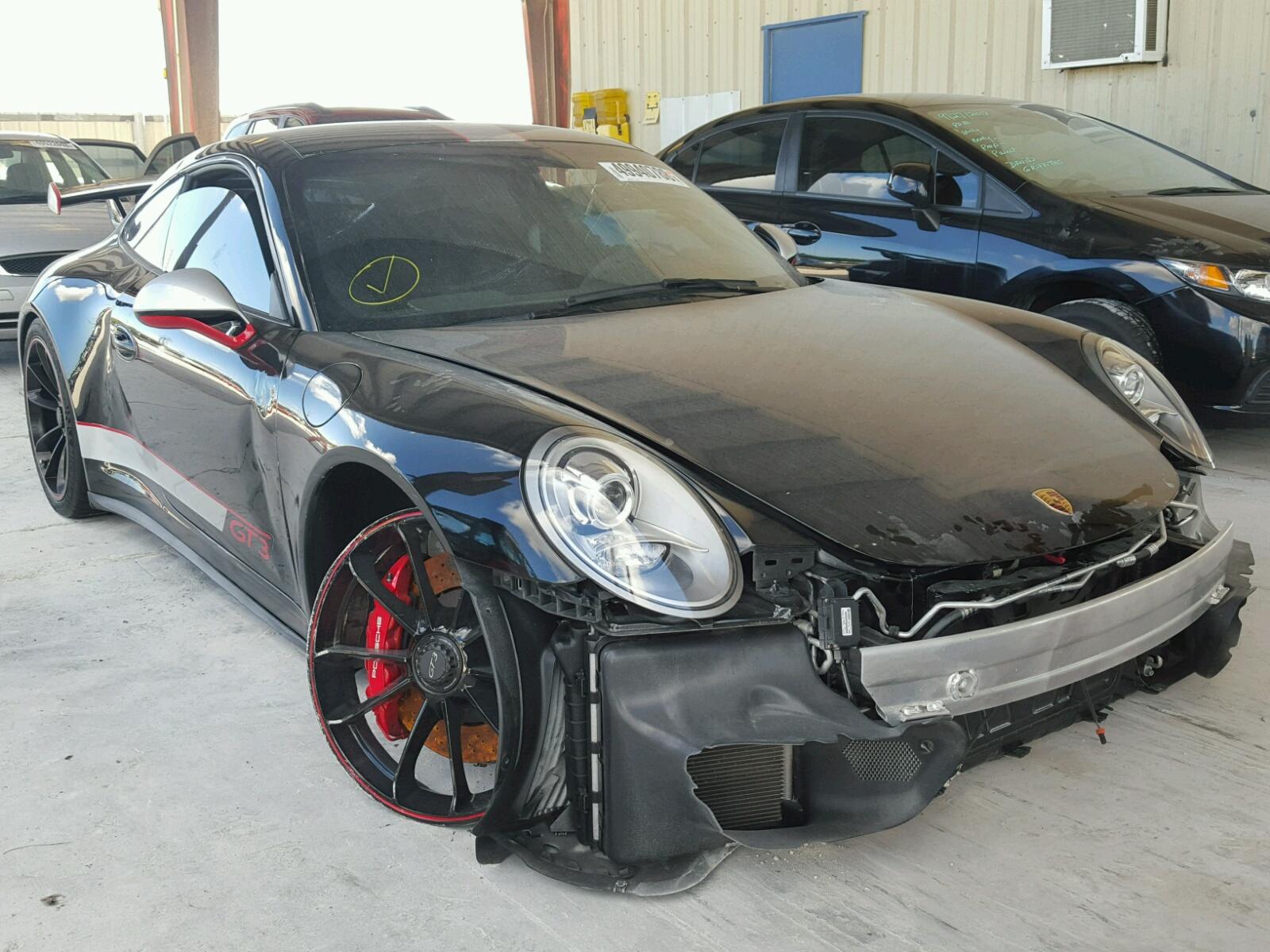 Copart Member Service Number >> 2015 Porsche 911 Gt3 3.8L 6 in FL - Miami South (WP0AC2A93FS183928) for Sale – AutoBidMaster.com