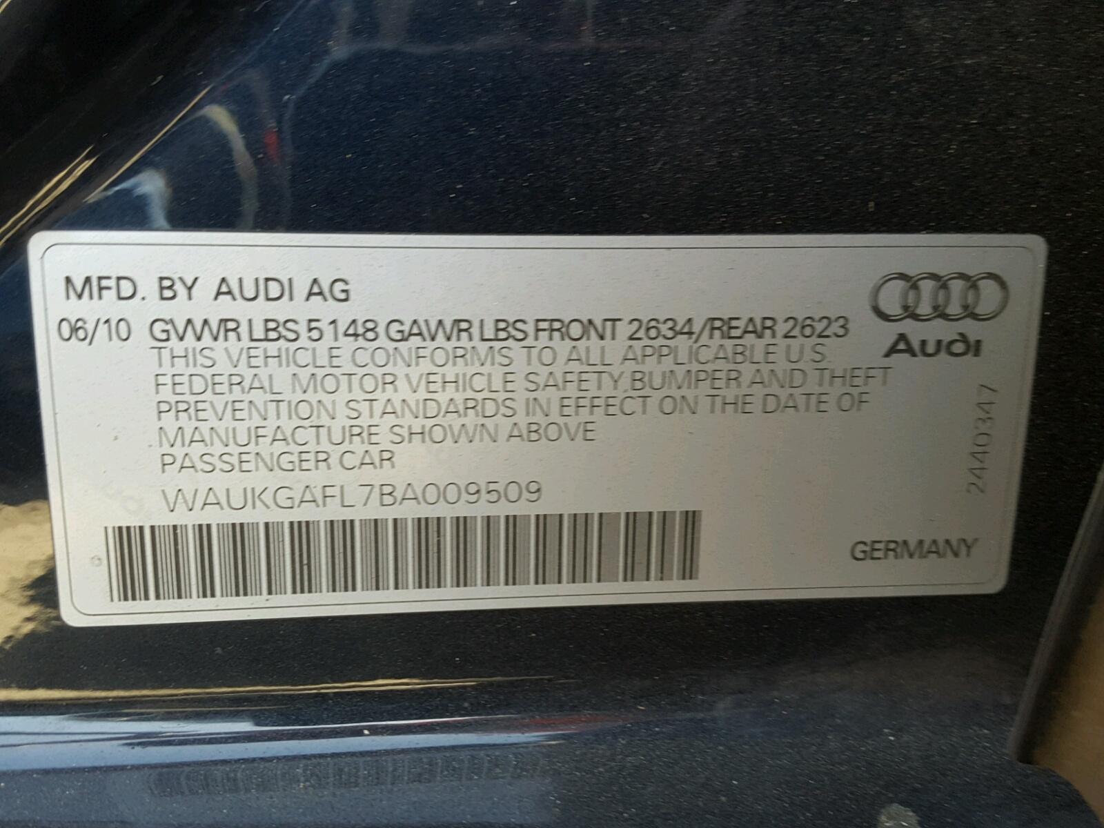 2011 Audi S4 Prestige в продаже Экономия на авто и боРее