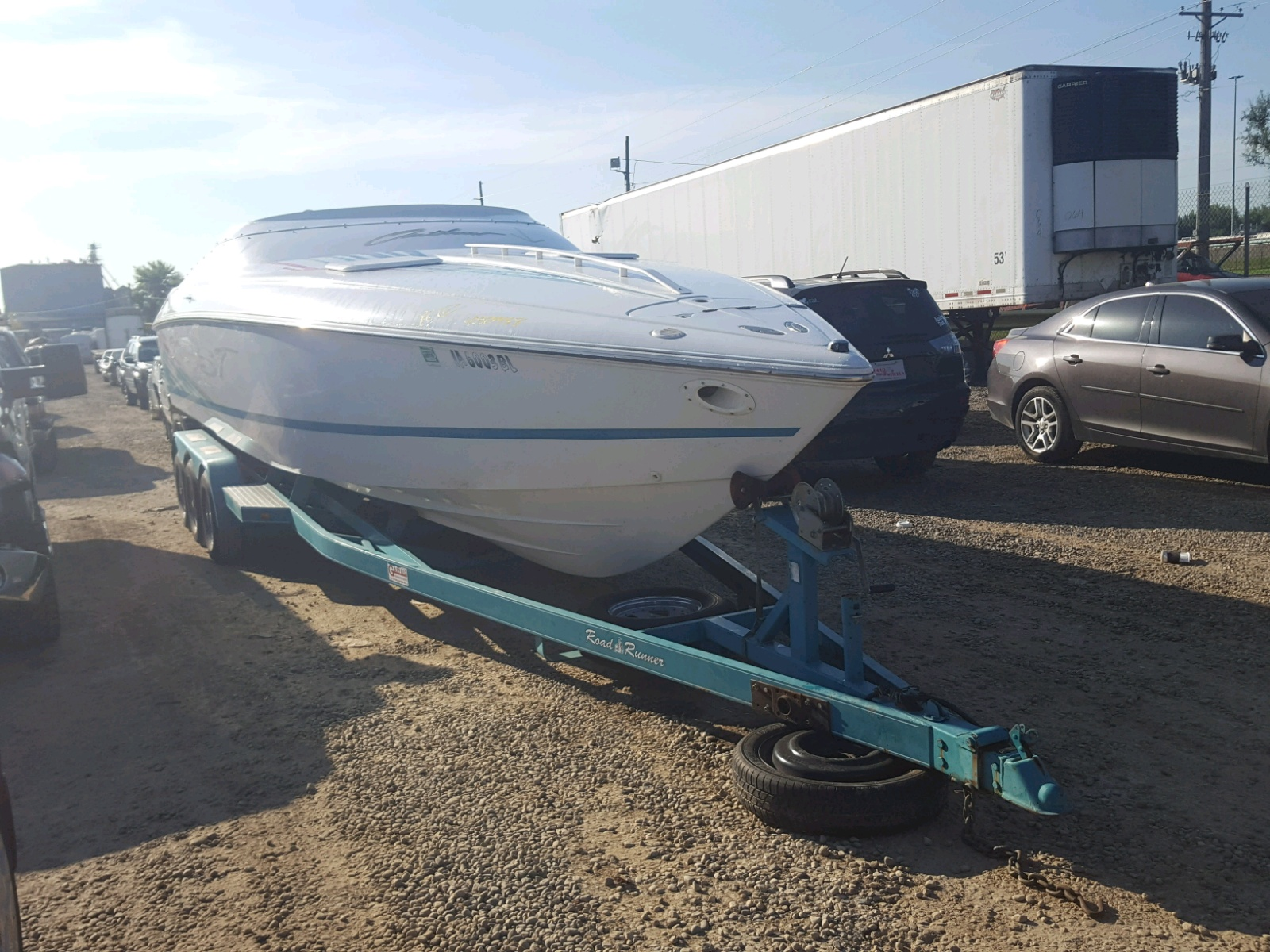 Salvage 1999 Baja BOAT for sale