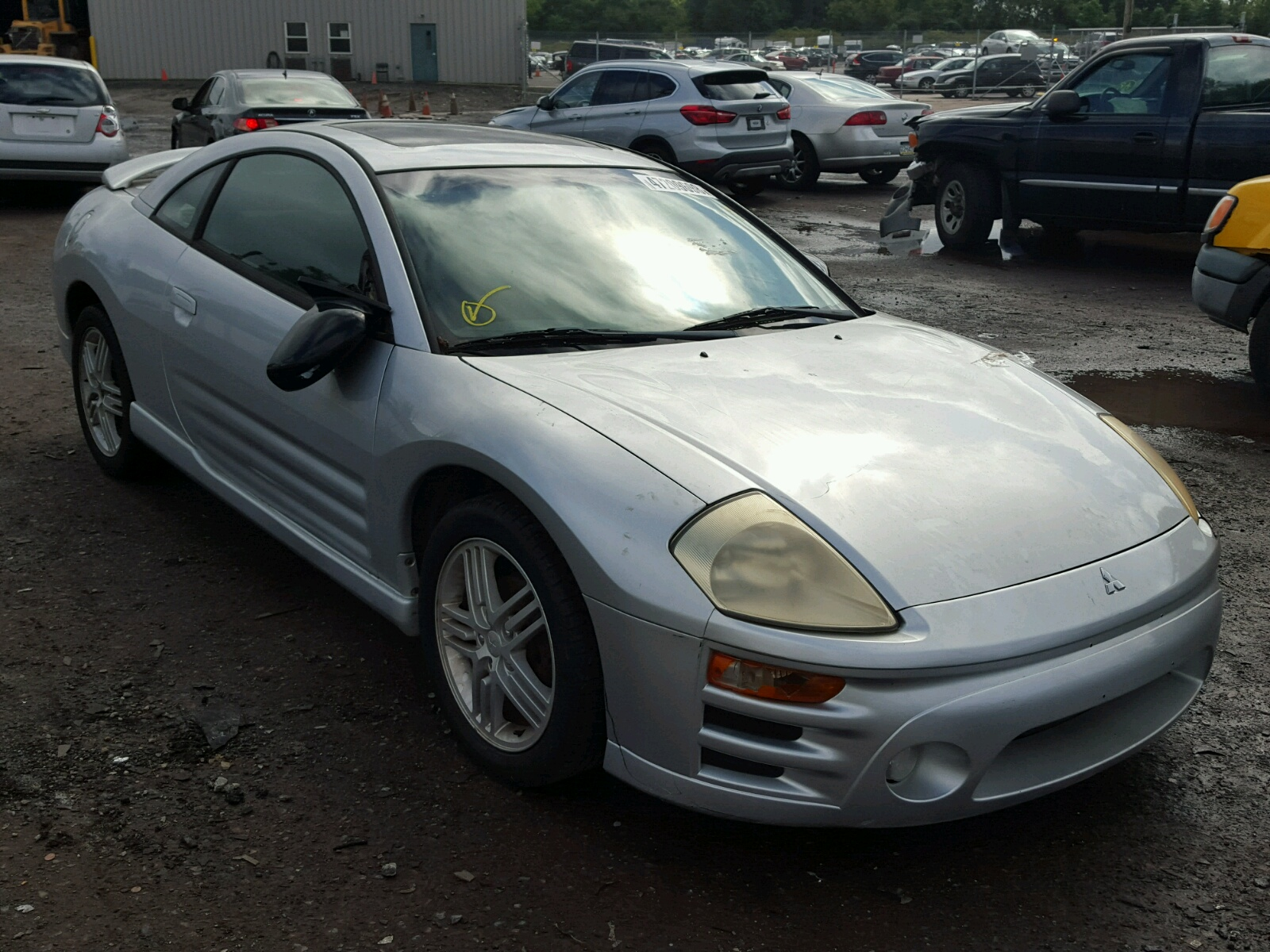 Salvage 2003 Mitsubishi ECLIPSE GT for sale