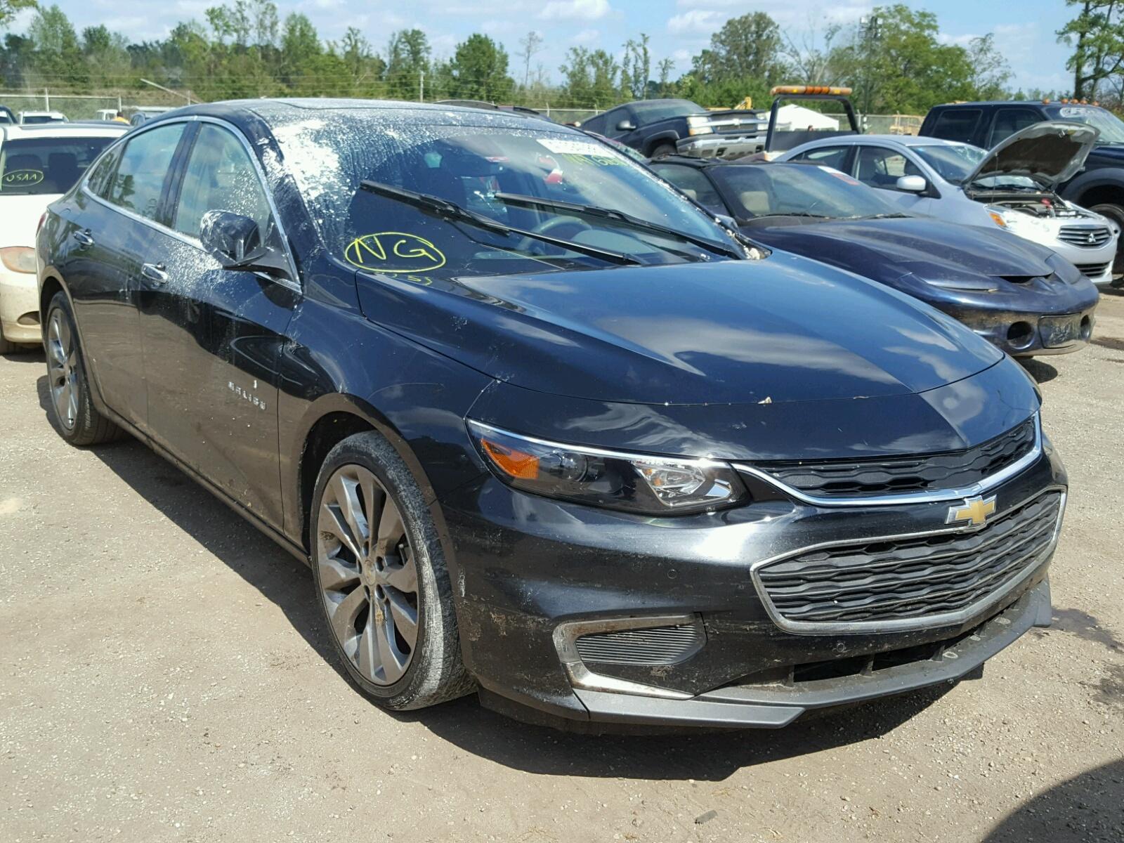 Salvage 2016 Chevrolet MALIBU PRE for sale
