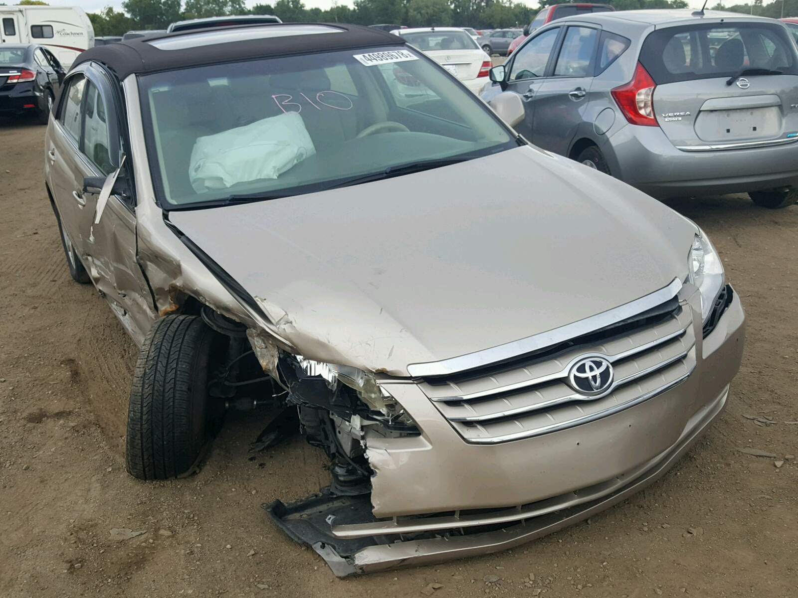 Salvage 2007 Toyota AVALON XL for sale