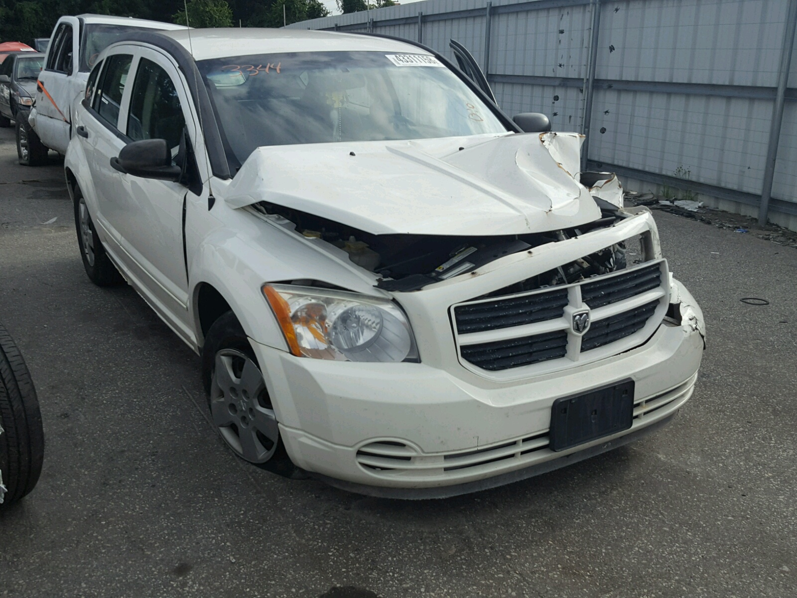 Salvage 2007 Dodge CALIBER for sale