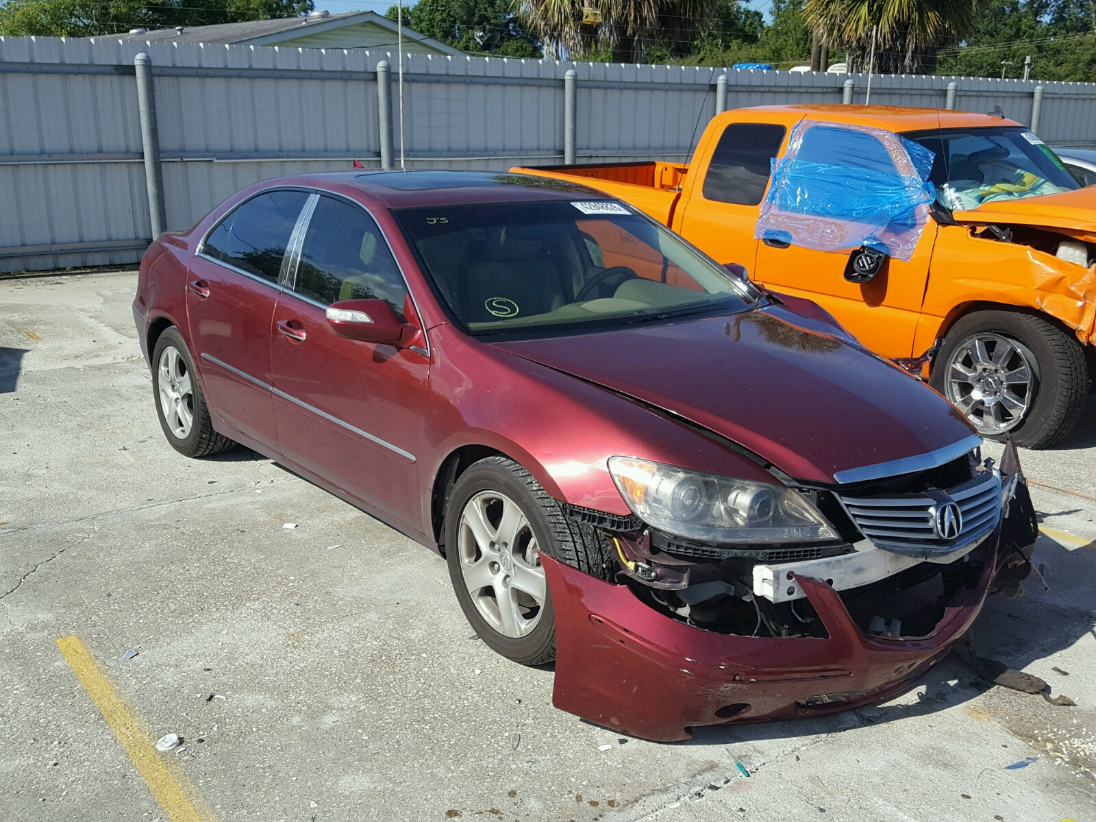 Acura RL For Sale At Copart Punta Gorda FL Lot - 98 acura rl for sale