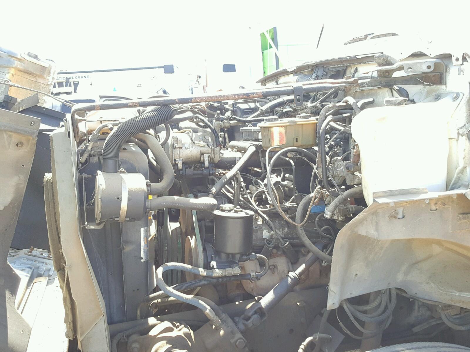 1fdpf70j0pva37752 1993 White Ford F700 On Sale In Tx Longview 1976 Dash Wiring 8 Inside View