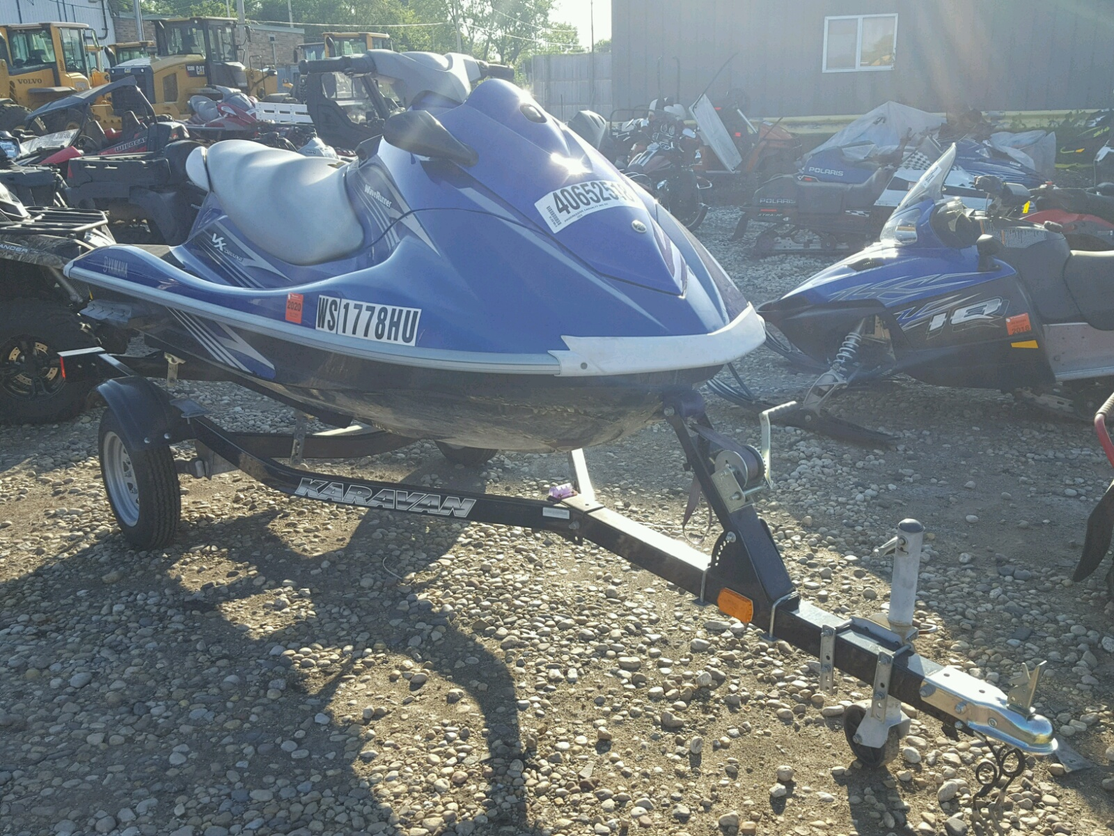 Salvage 2010 Yamaha MARINE LOT for sale
