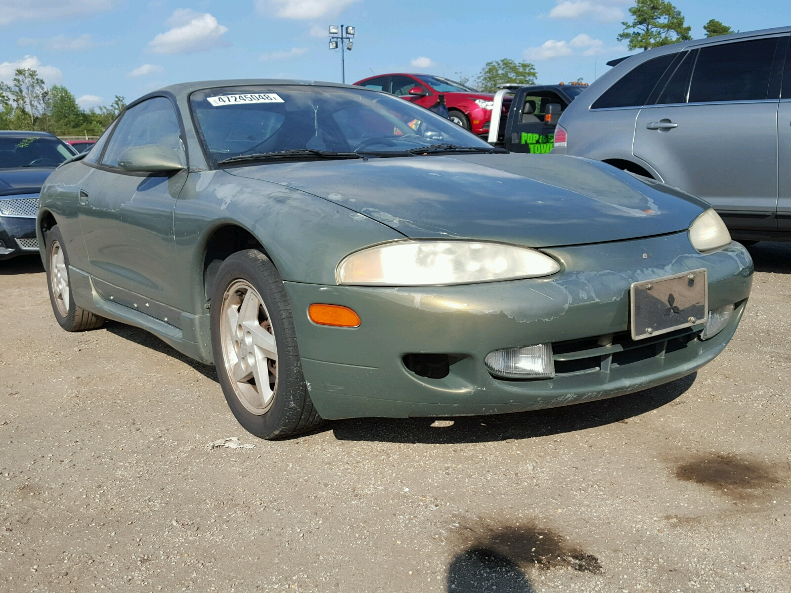 Salvage 1996 Mitsubishi ECLIPSE GS for sale