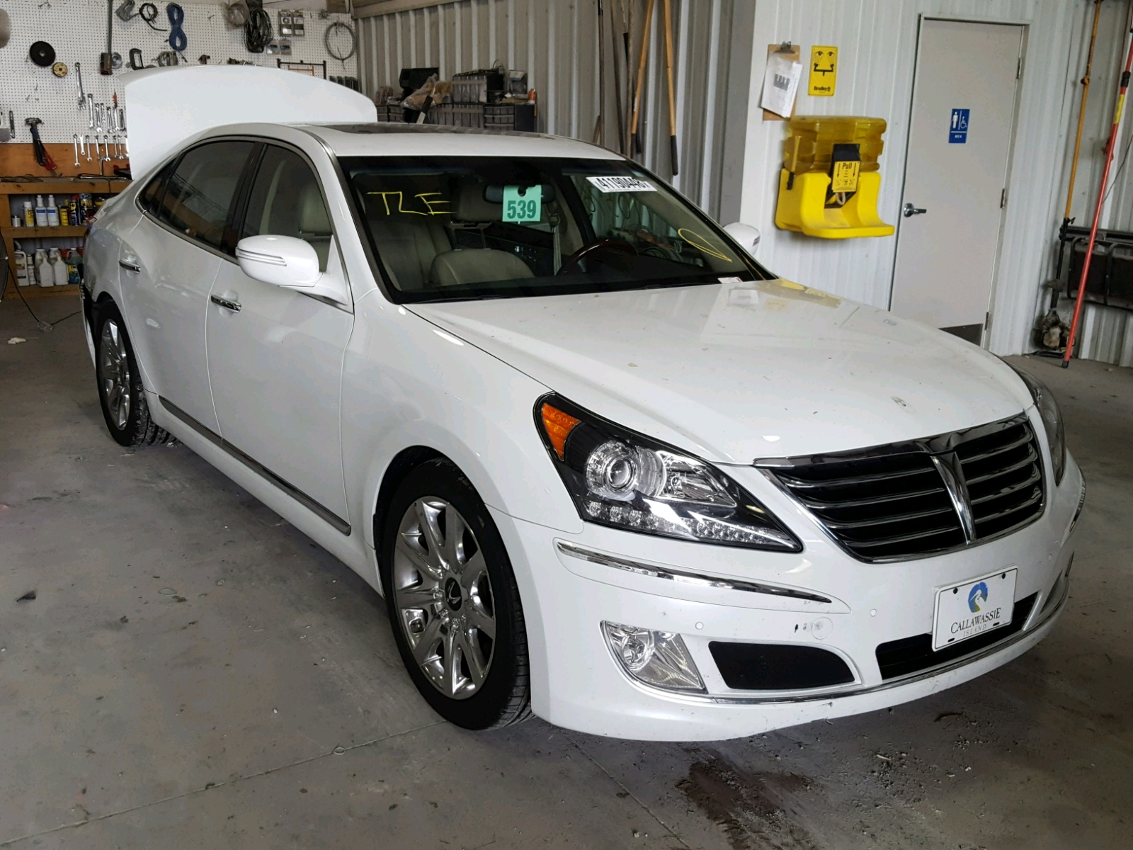 Salvage 2013 Hyundai EQUUS SIGN for sale