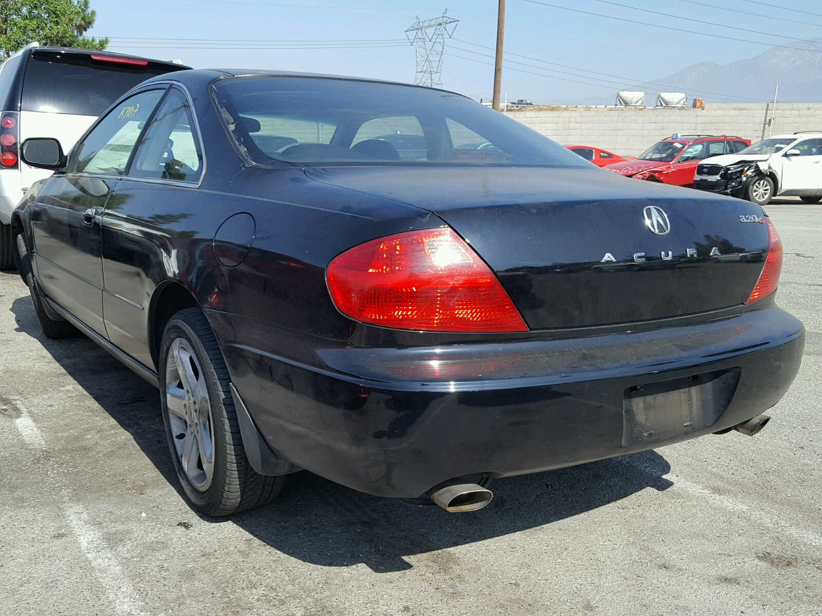 2001 Acura 3 2CL Type for sale at Copart Rancho Cucamonga CA Lot