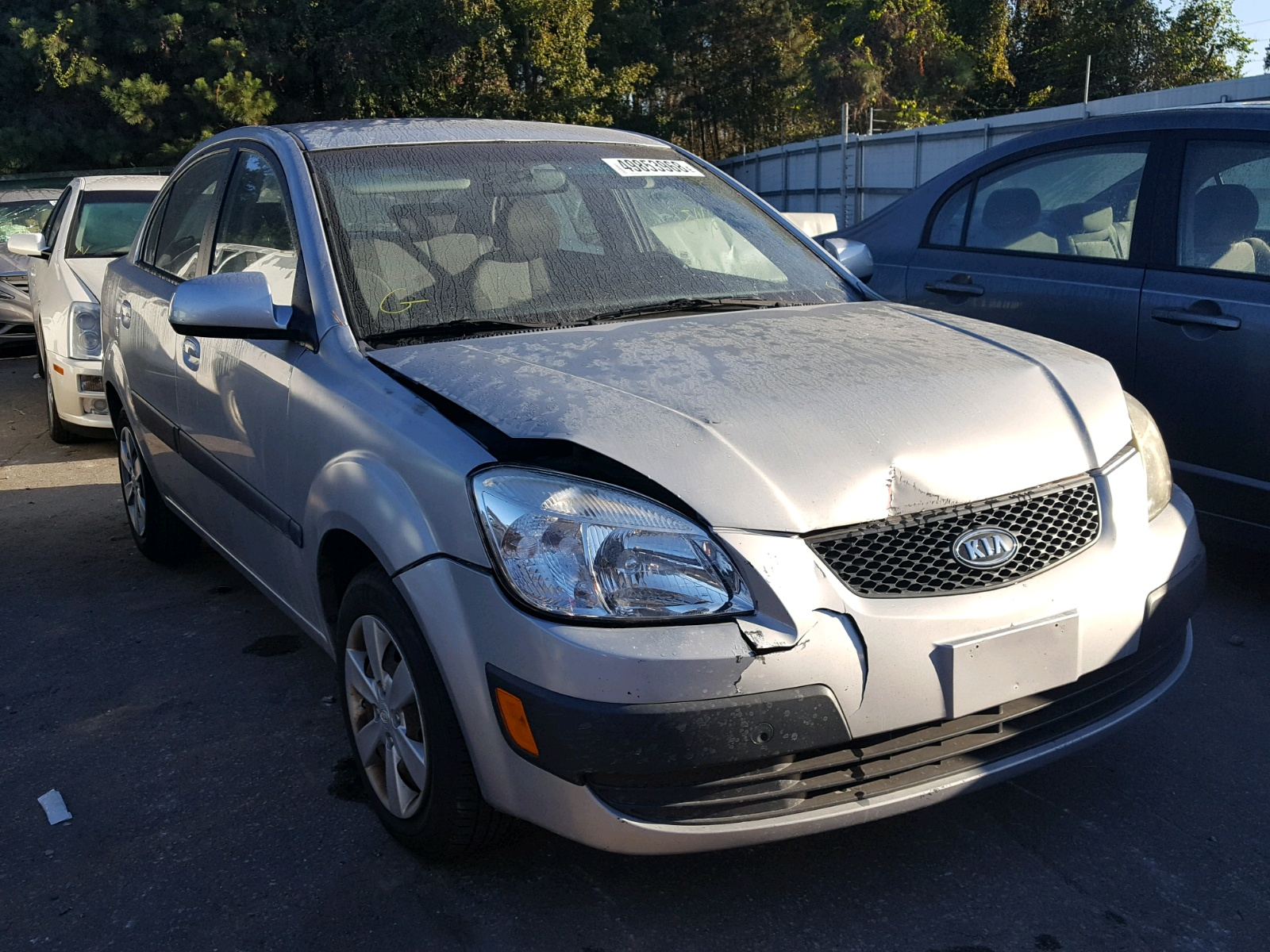 Salvage 2009 KIA RIO BASE for sale