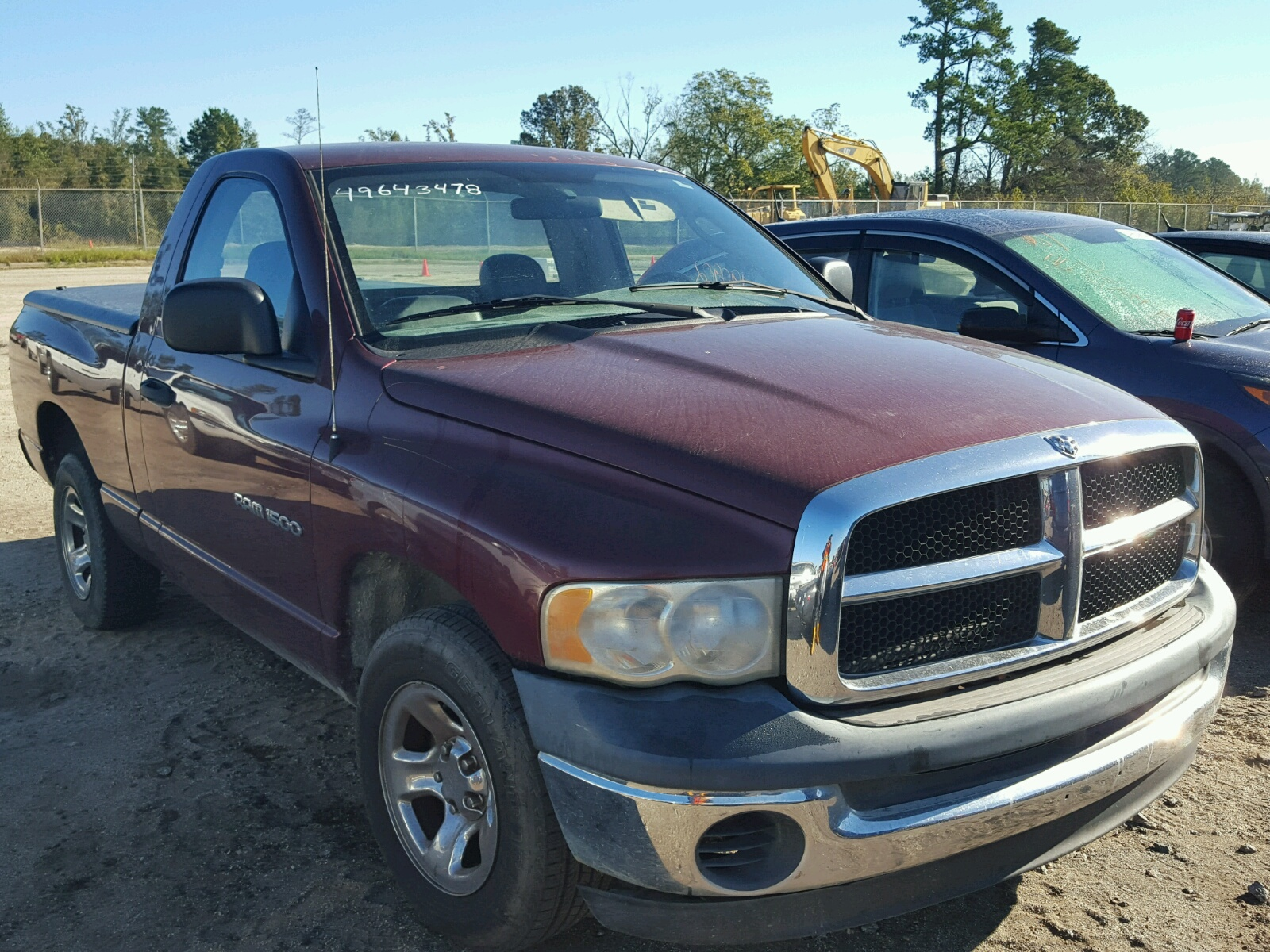 Salvage 2003 Dodge RAM 1500 S for sale