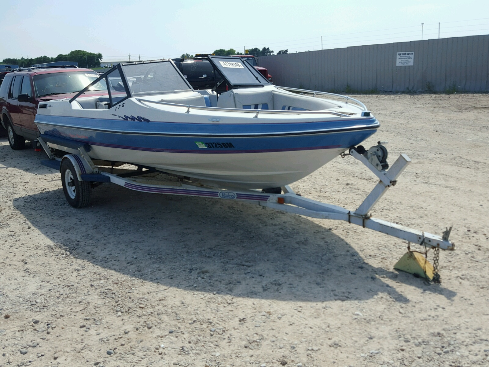Salvage 1989 Other 160 SPORTA for sale