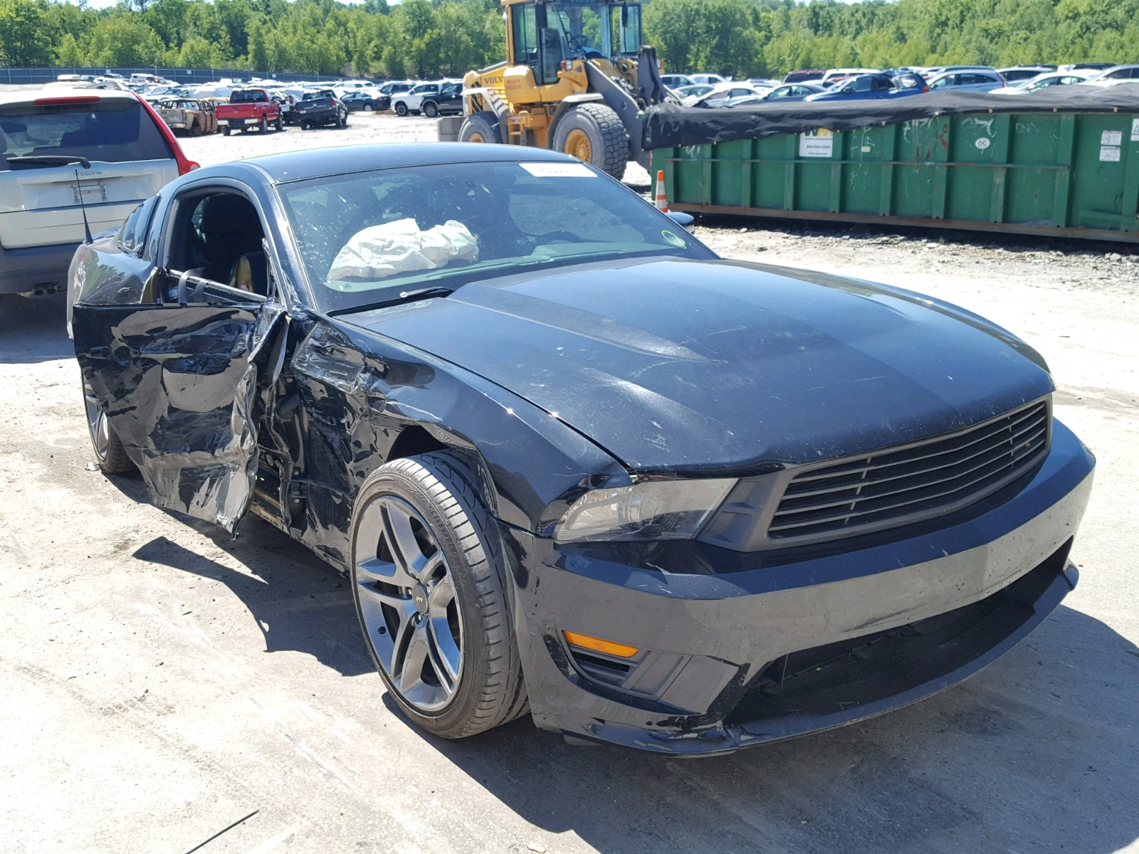Salvage 2012 ford mustang gt for sale