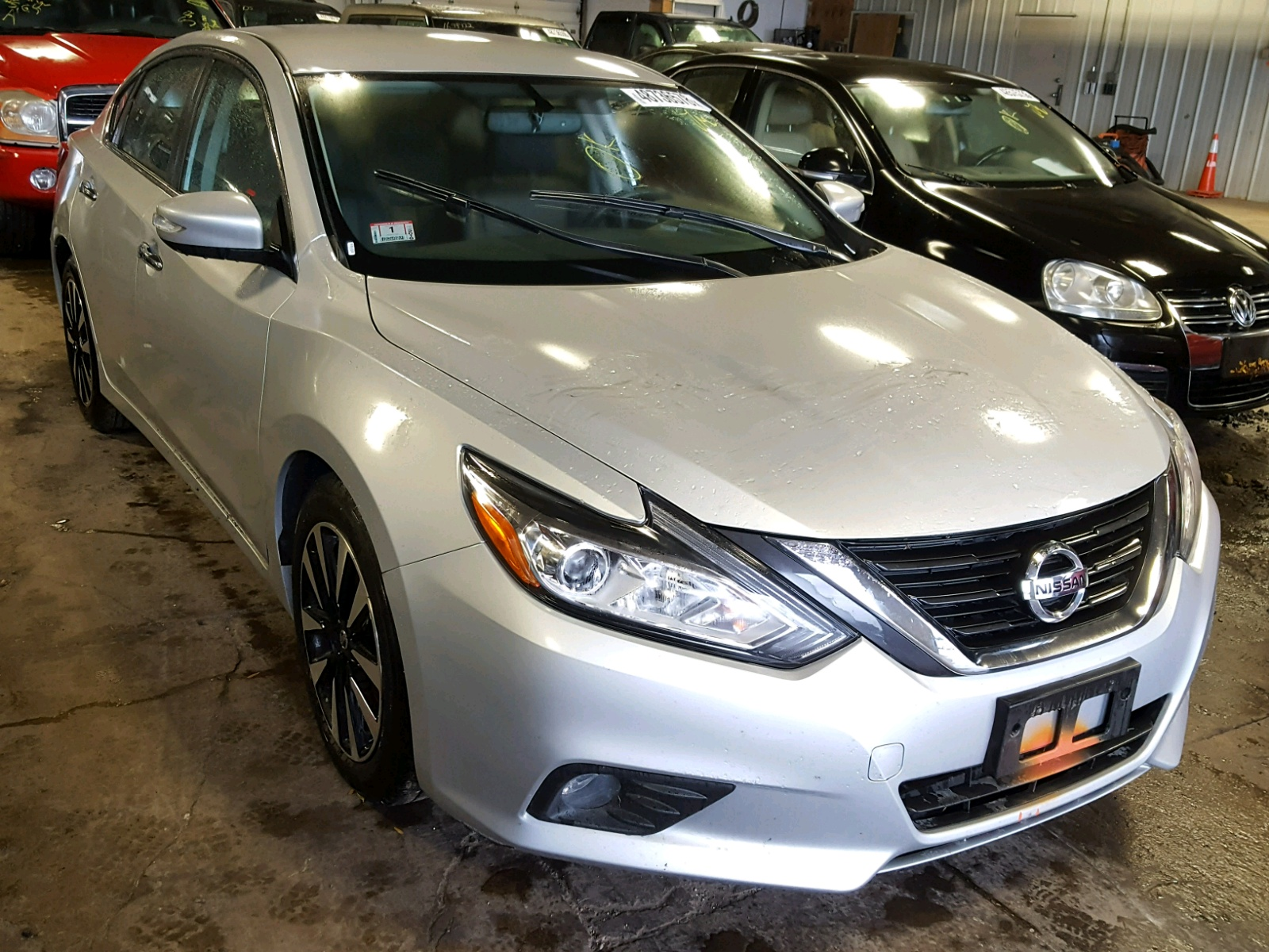 Salvage 2018 Nissan ALTIMA 2.5 for sale
