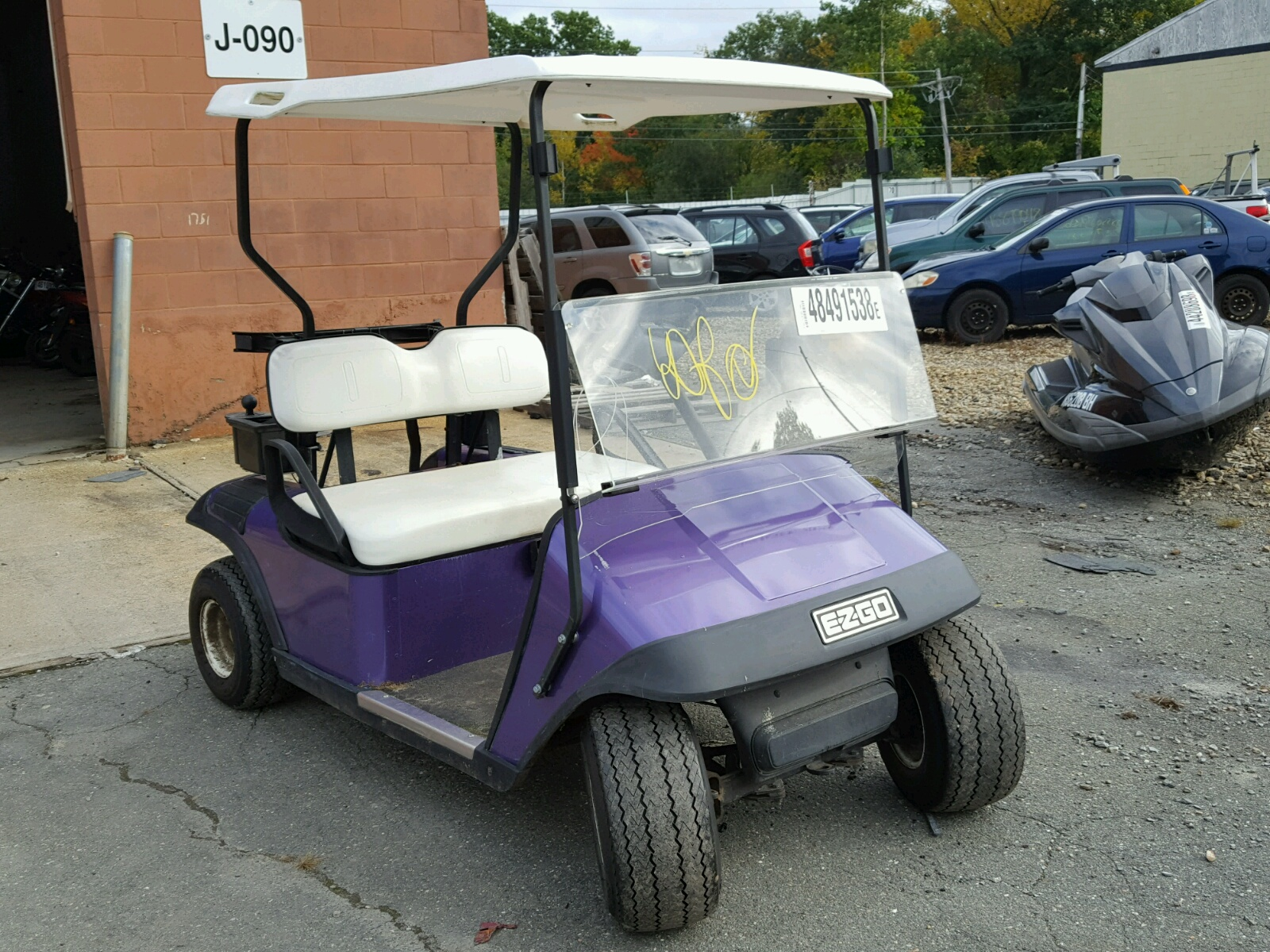 Salvage 1995 Golf CART for sale