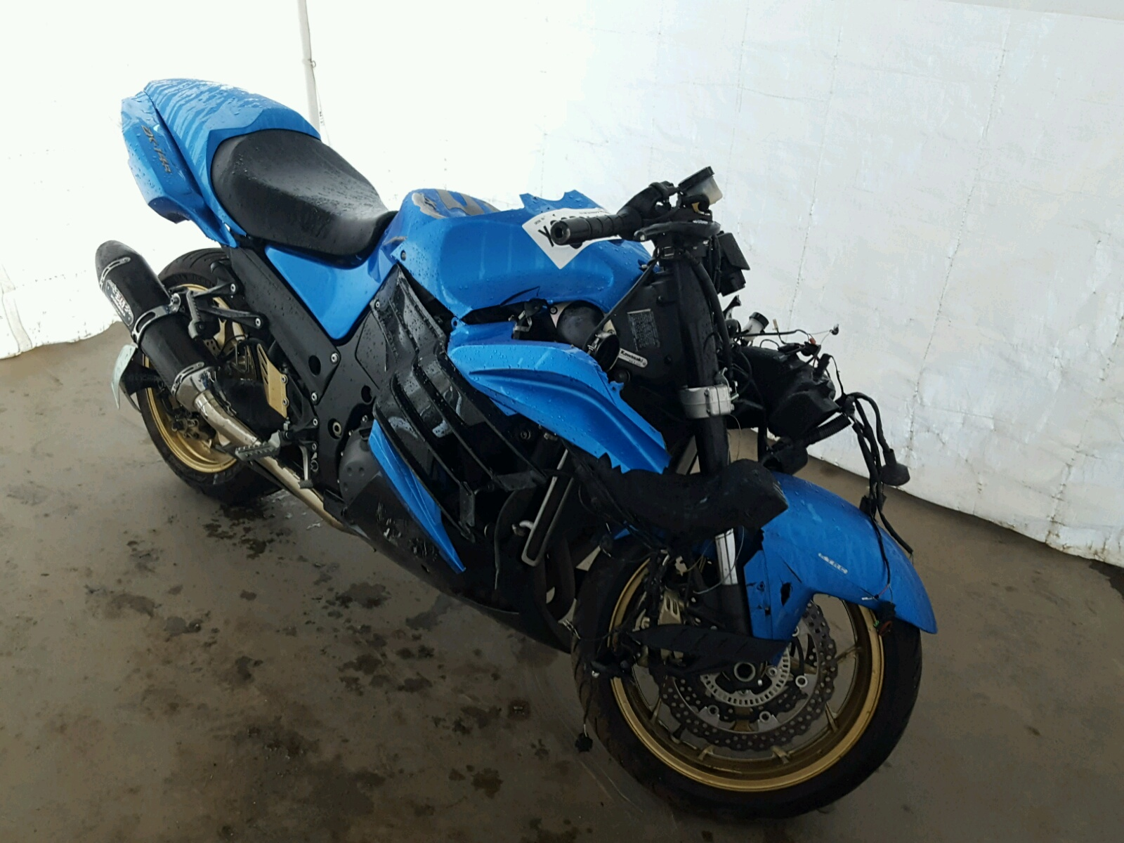Salvage 2012 Kawasaki ZX1400 EC for sale