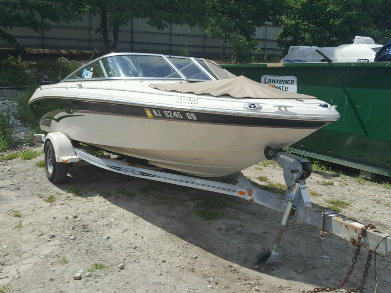 Salvage 2003 Sea Ray BOAT for sale