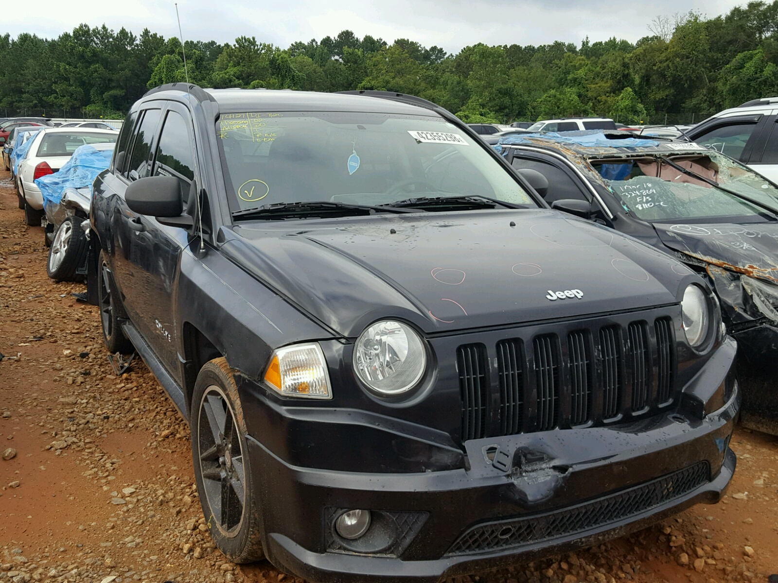 Salvage 2008 Jeep COMPASS SP for sale