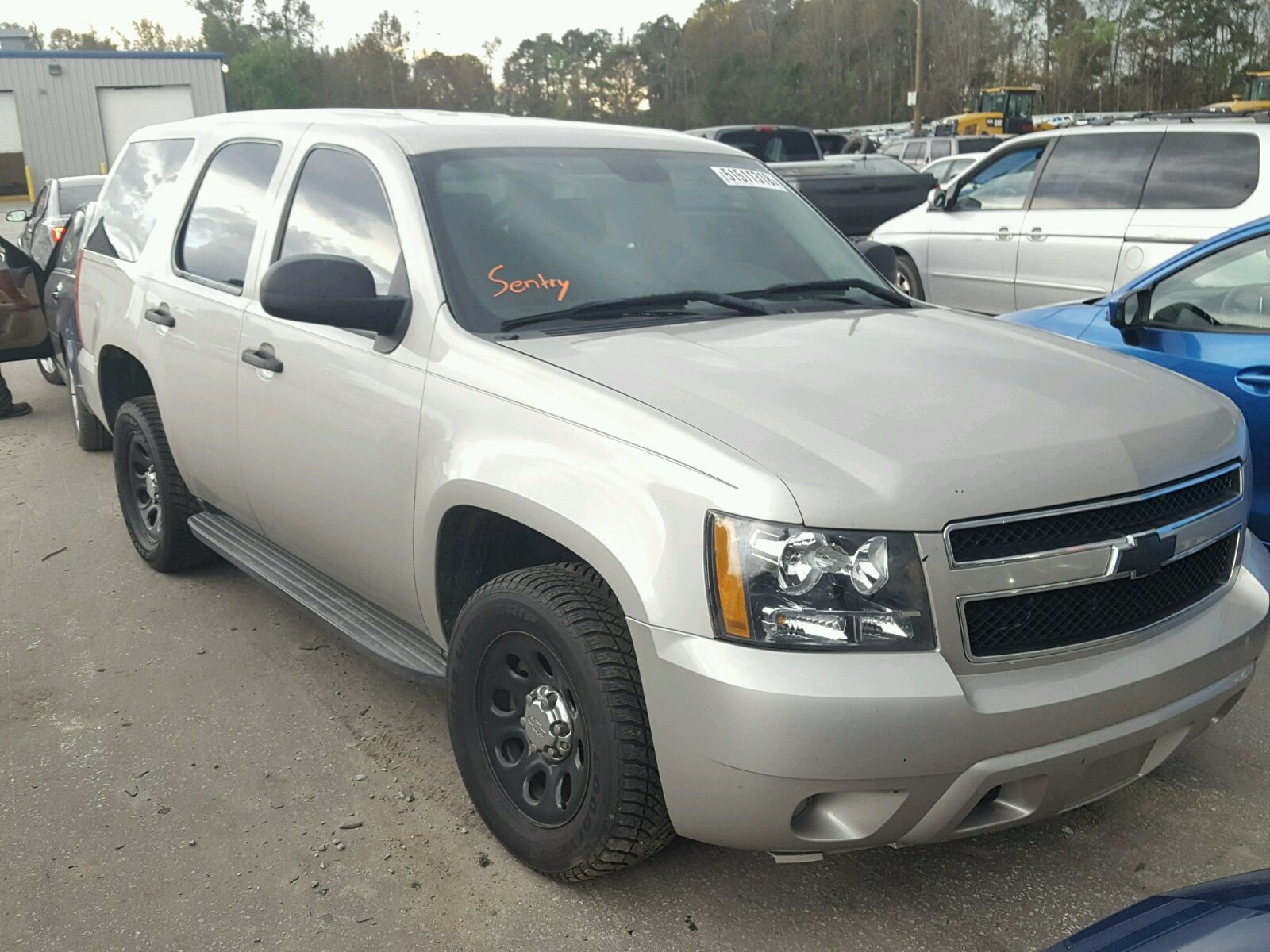 Salvage 2009 Chevrolet TAHOE POLI for sale