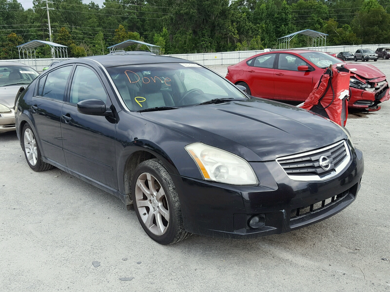 Salvage 2007 Nissan MAXIMA SE for sale