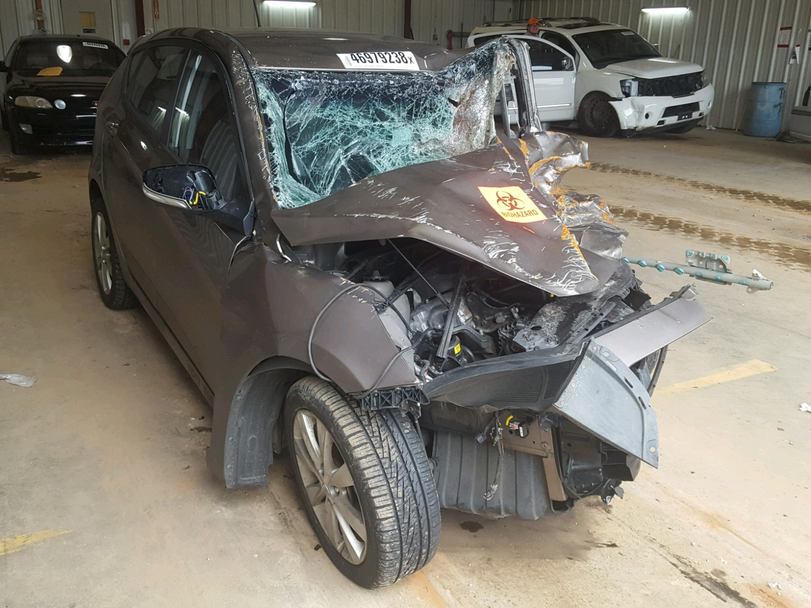 Salvage 2014 Hyundai ACCENT GLS for sale