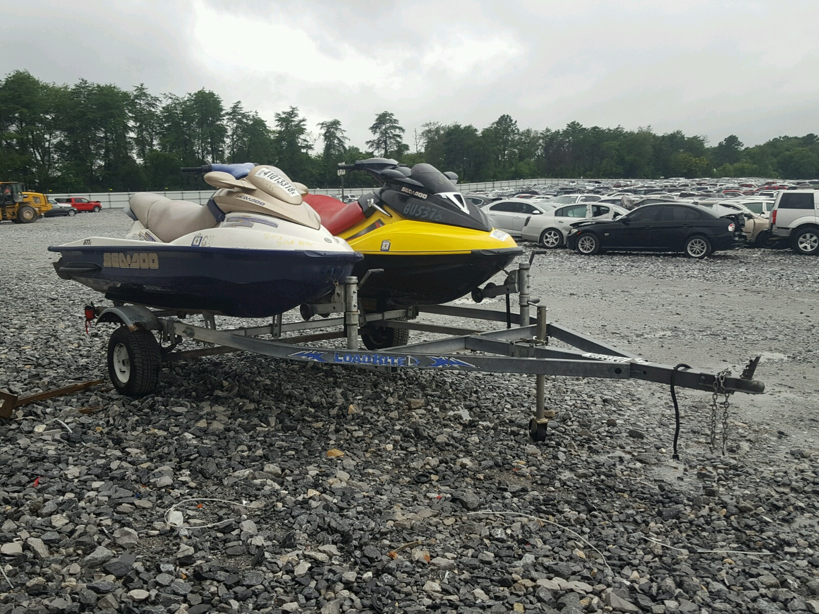 Salvage 2003 ZZN SEADOO for sale