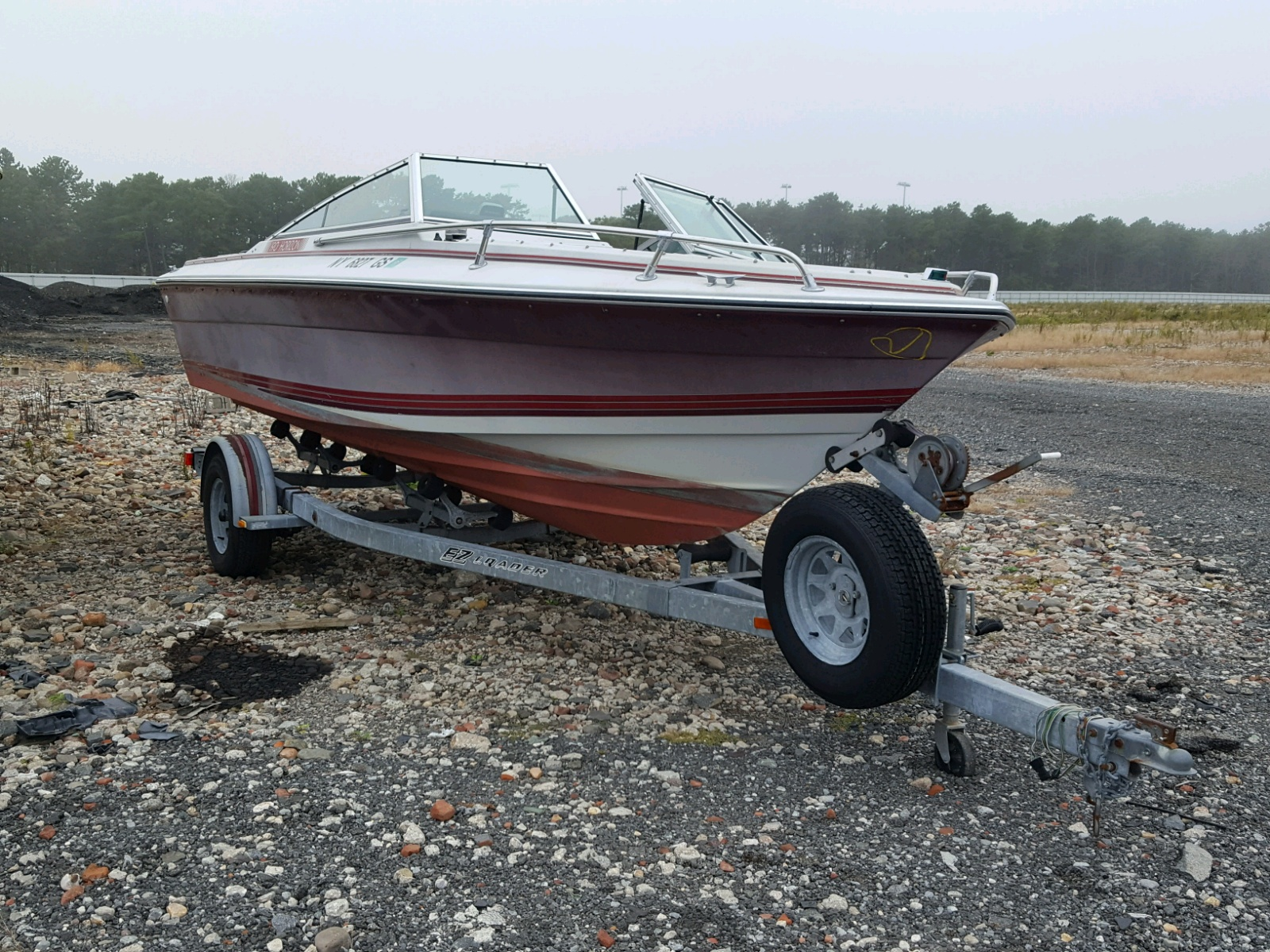 Salvage 1987 Four Winds BOAT for sale