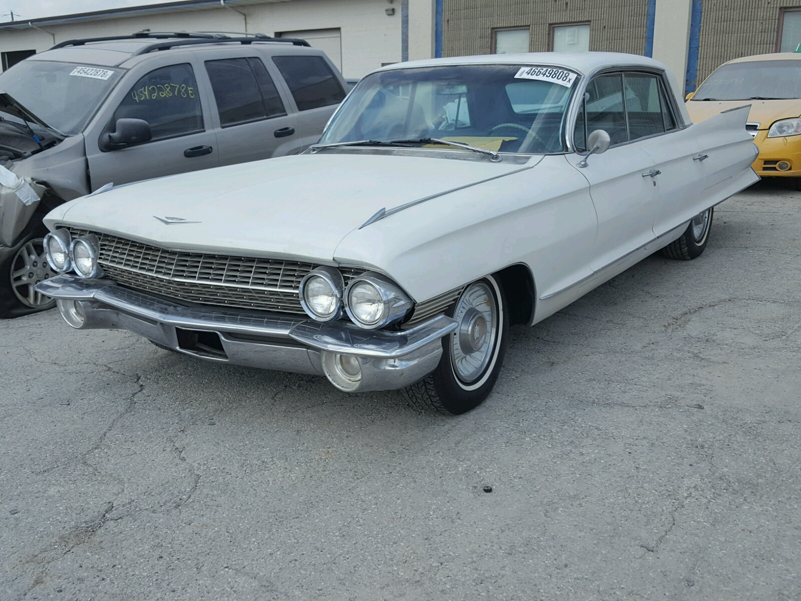 1961 Cadillac Fleetwood For Sale At Copart Indianapolis In Lot Sedan Deville 46649808