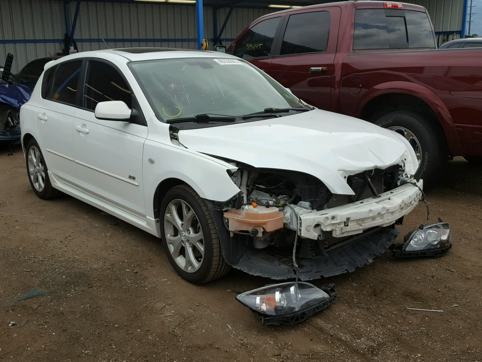 Salvage 2008 Mazda 3 HATCHBAC for sale