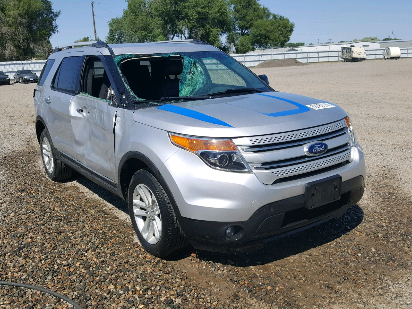 2013 Ford Explorer X for sale at Copart Billings MT Lot