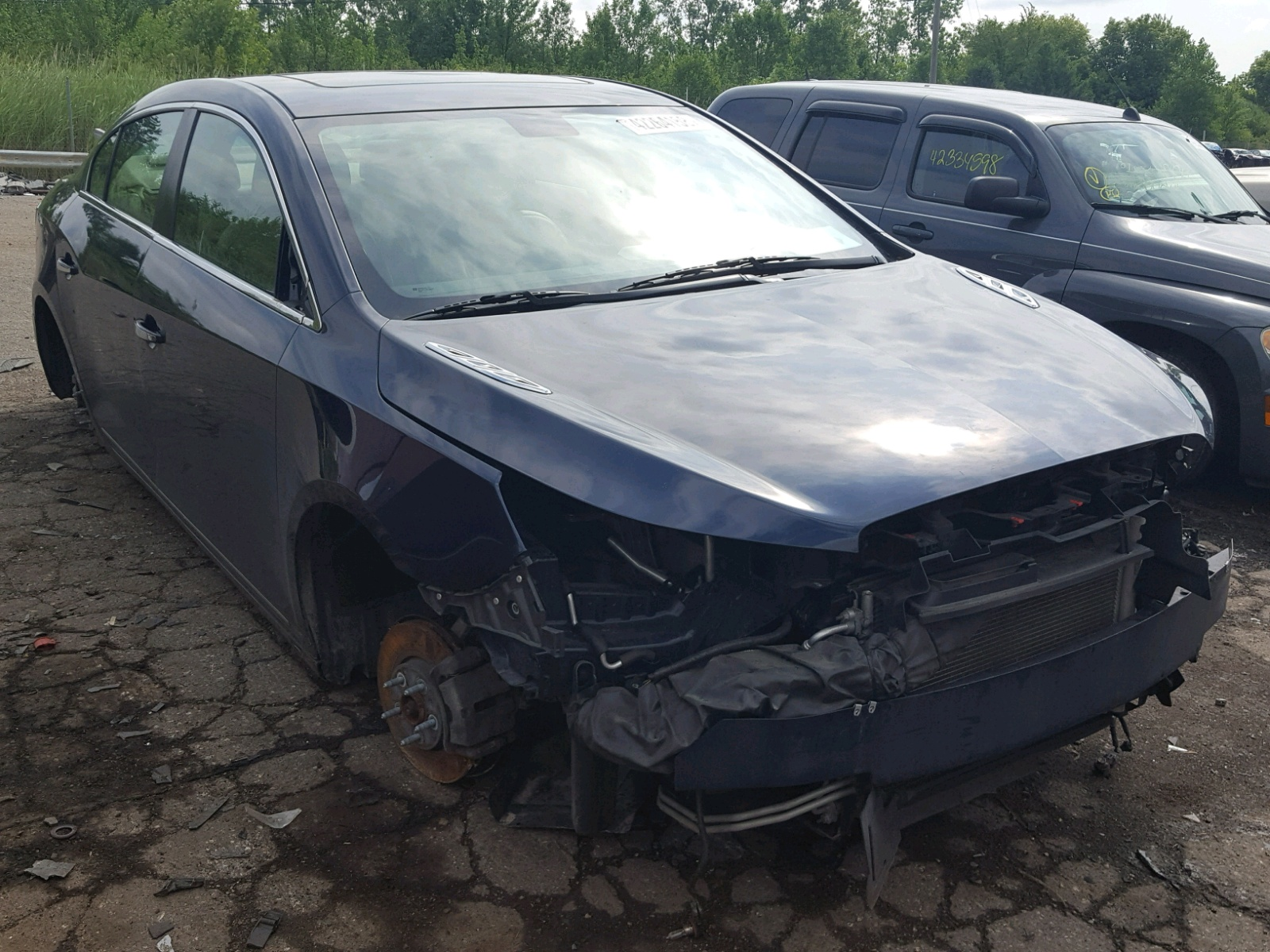 Salvage 2011 Buick LACROSSE C for sale