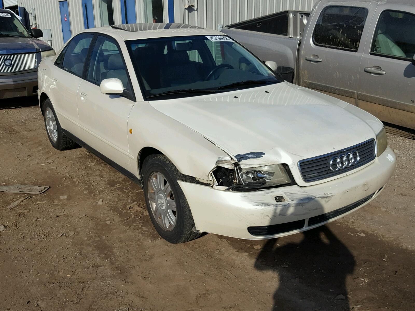 Audi A T Quattro For Sale At Copart Louisville KY Lot - 1998 audi a4