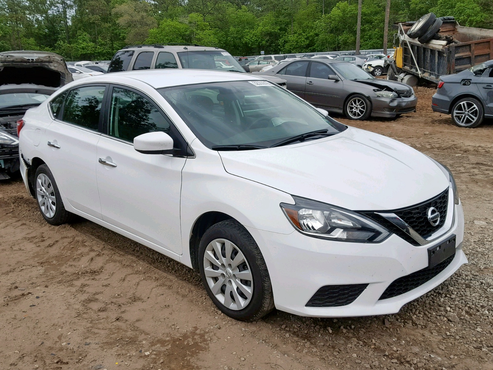 Salvage 2017 Nissan SENTRA S for sale