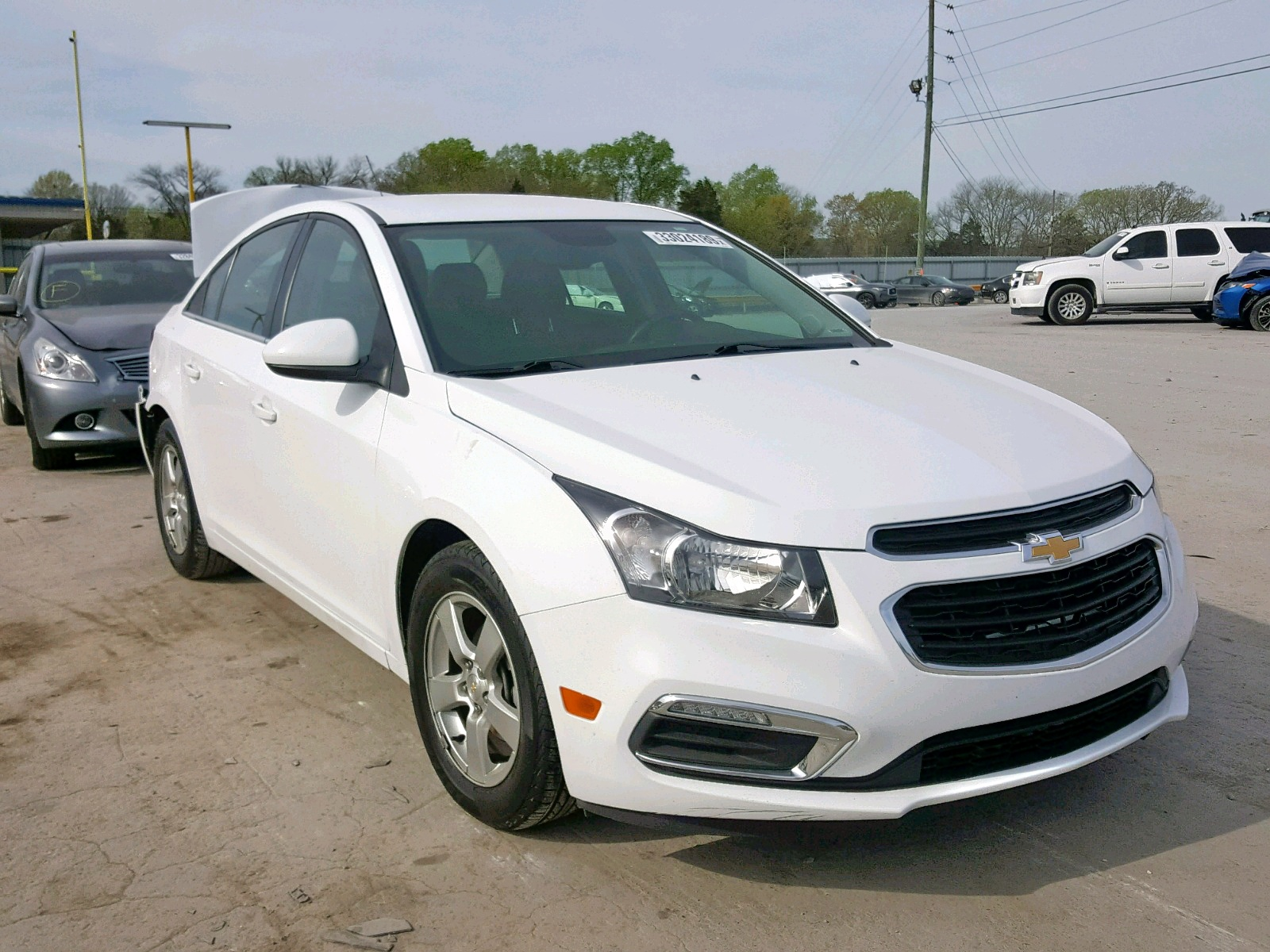 Salvage 2016 Chevrolet CRUZE LIMITED for sale