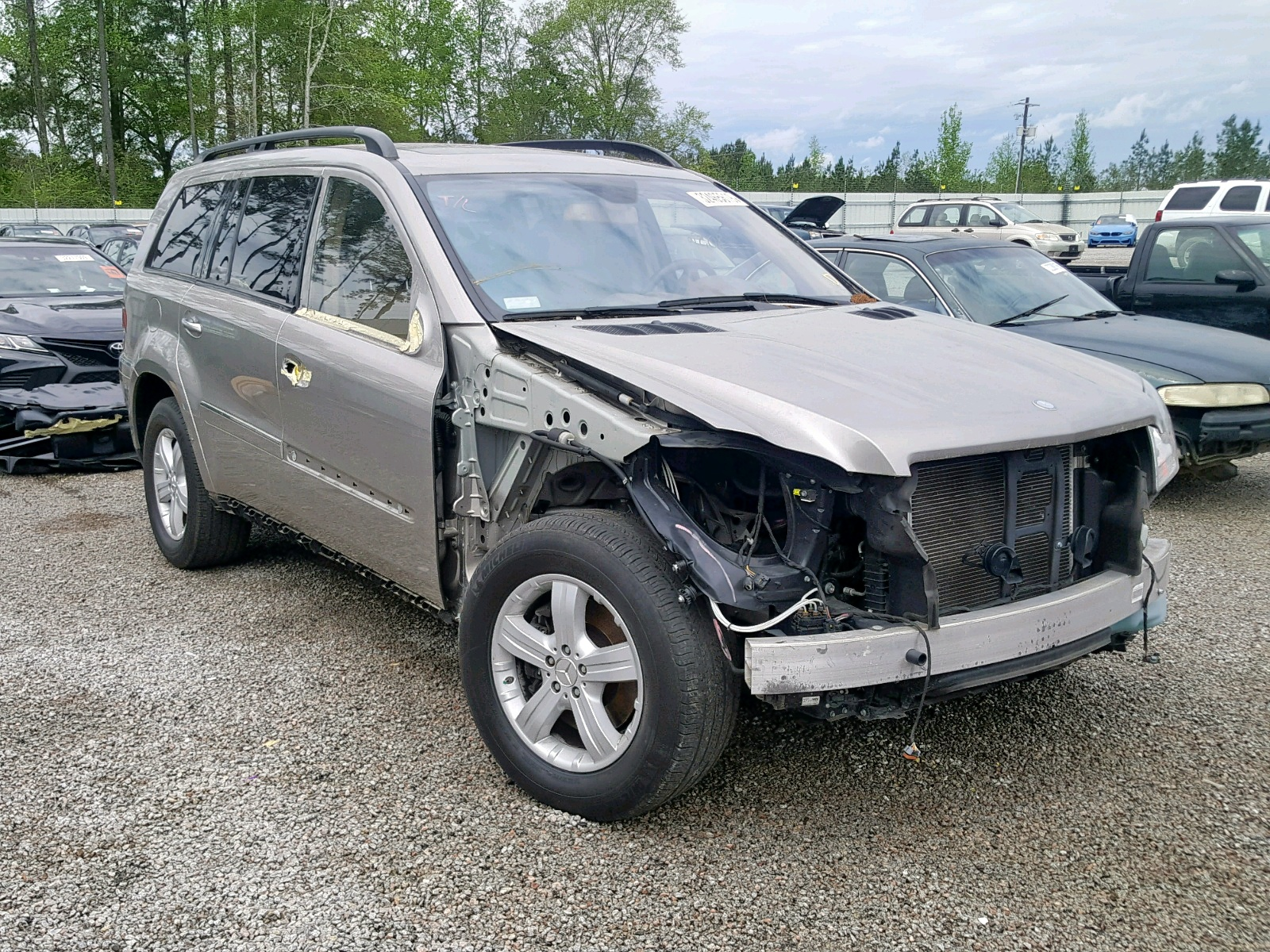Salvage 2007 Mercedes-Benz GL 450 4MATIC for sale