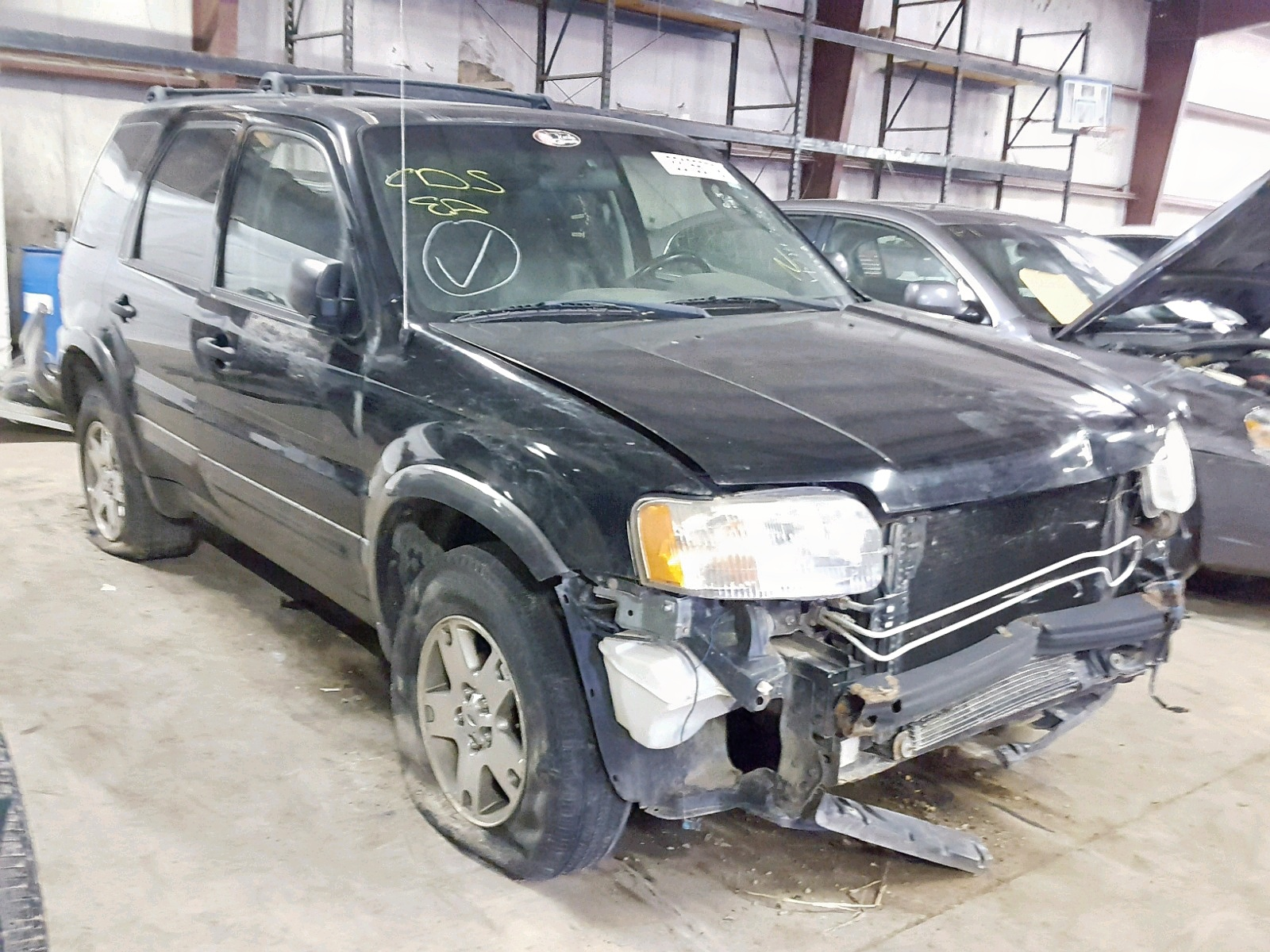 Salvage 2003 Ford ESCAPE XLT for sale