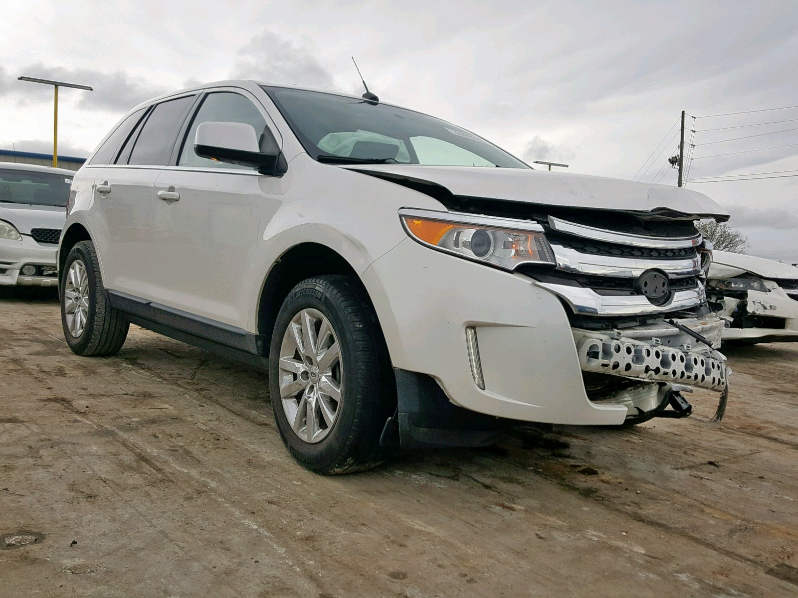 Salvage 2011 Ford EDGE LIMITED for sale