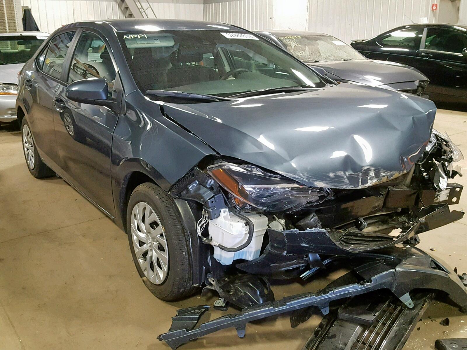Salvage 2017 Toyota COROLLA L for sale