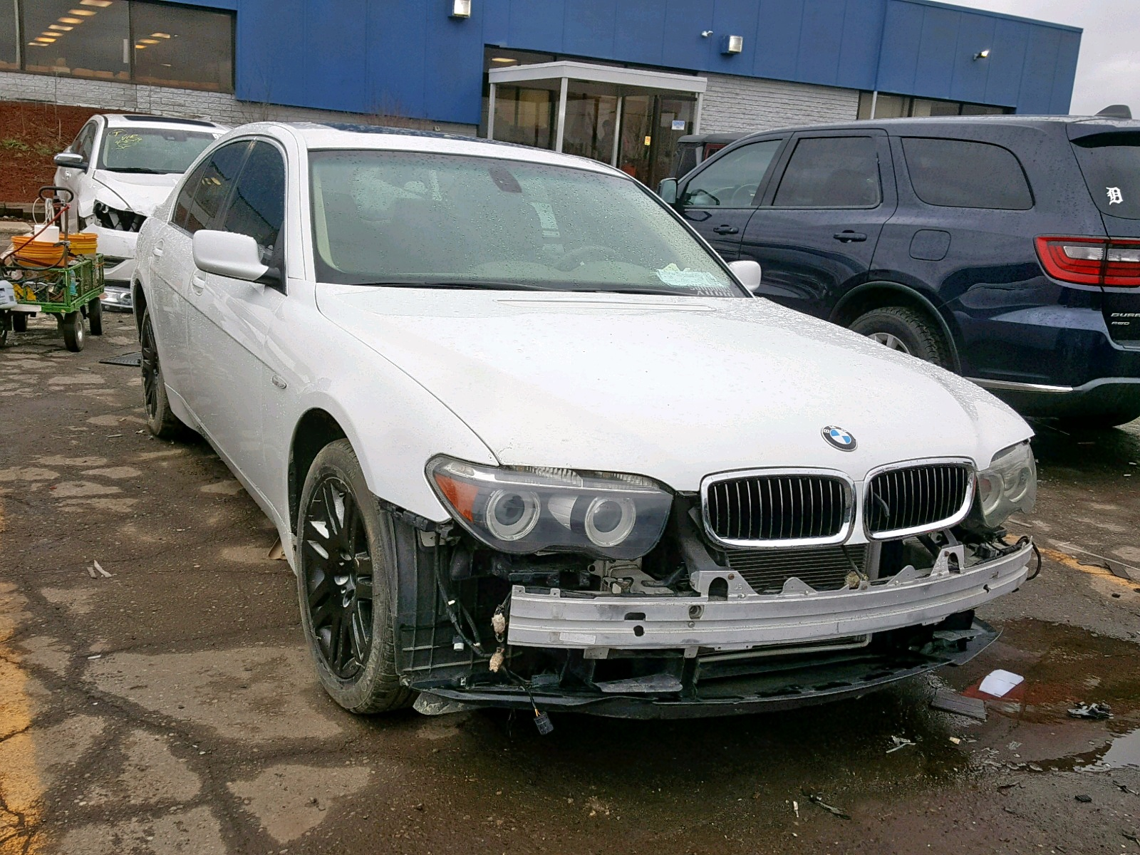 Salvage 2005 BMW 745 I for sale