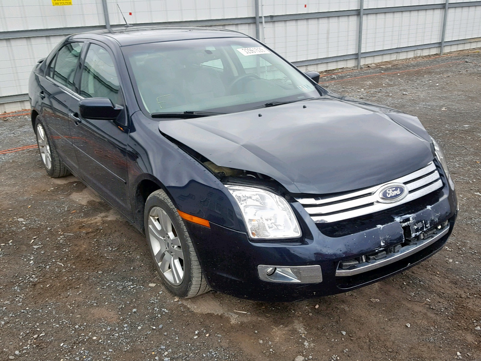 Salvage 2008 Ford FUSION SEL for sale