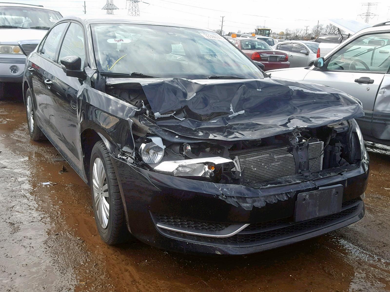Salvage 2014 Volkswagen PASSAT S for sale