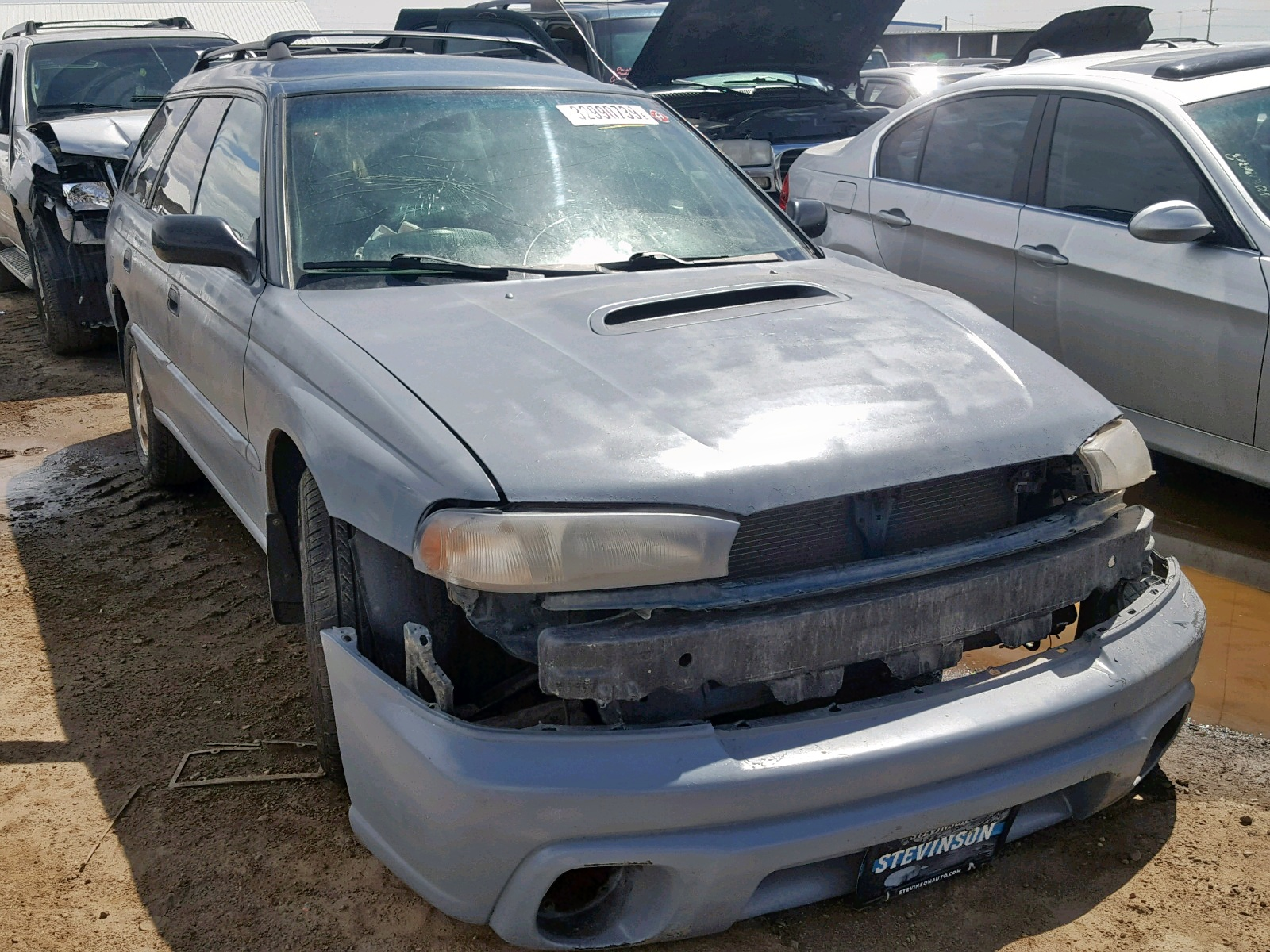 Salvage 1997 Subaru LEGACY OUTBACK for sale