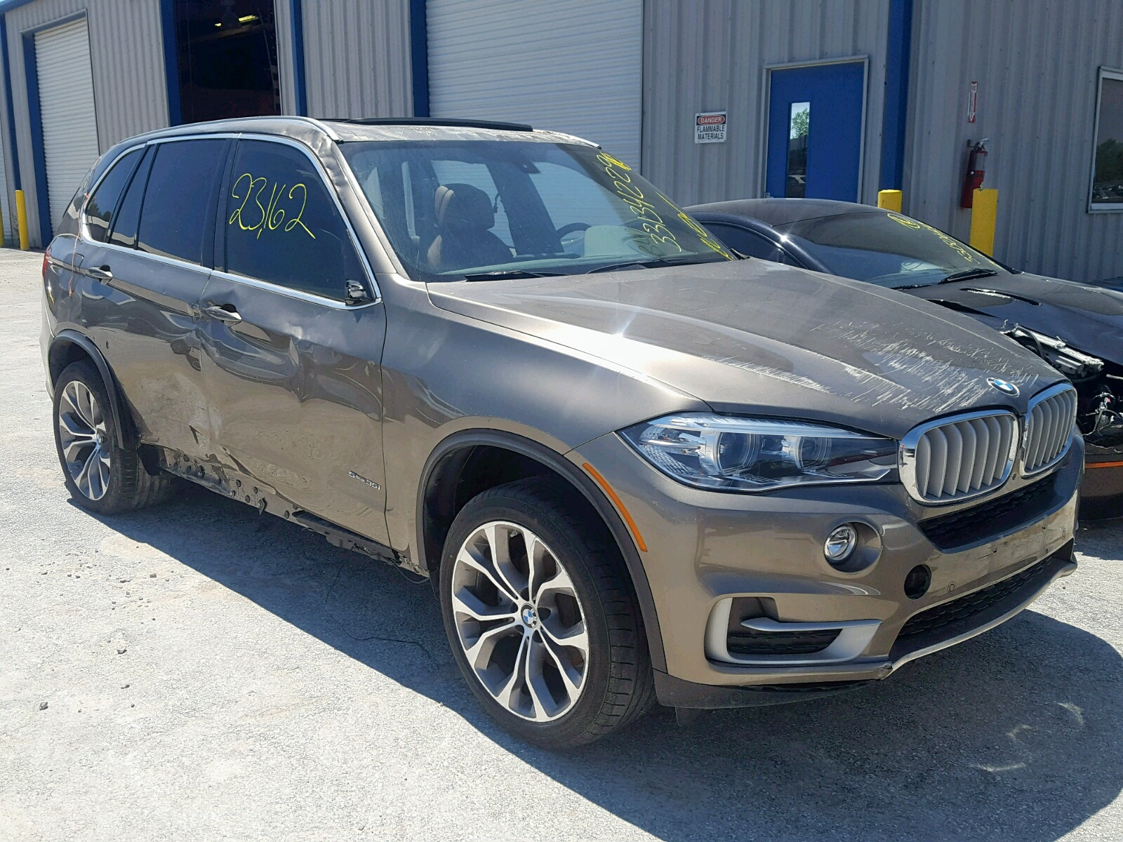 Salvage 2017 BMW X5 SDRIVE3 for sale