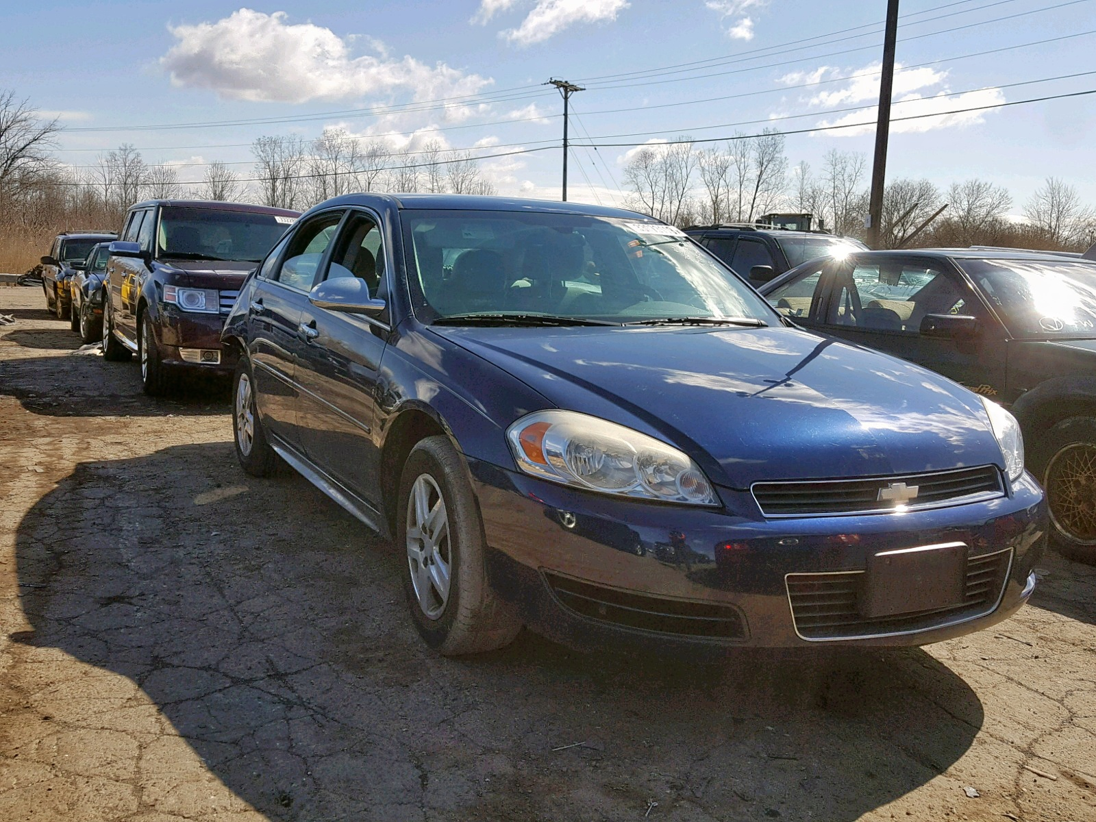 Salvage 2011 Chevrolet IMPALA LS for sale