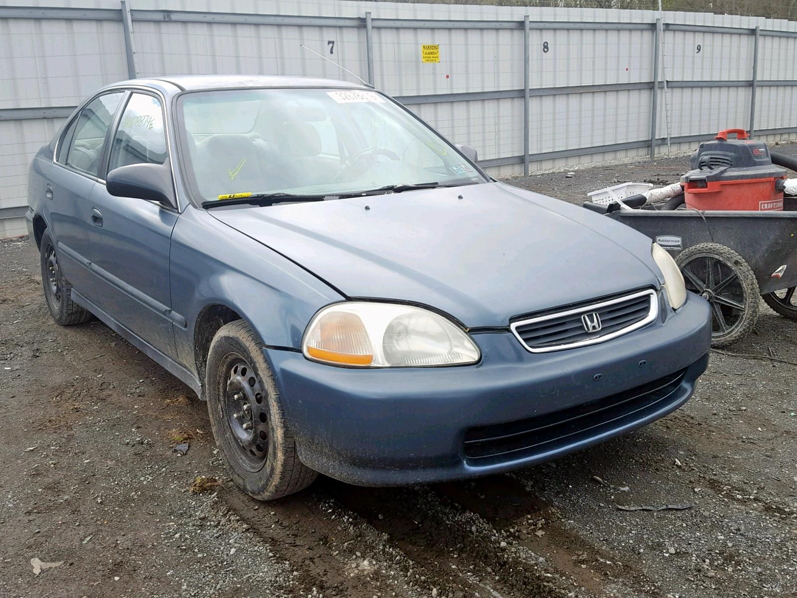 Salvage 1998 Honda CIVIC LX for sale