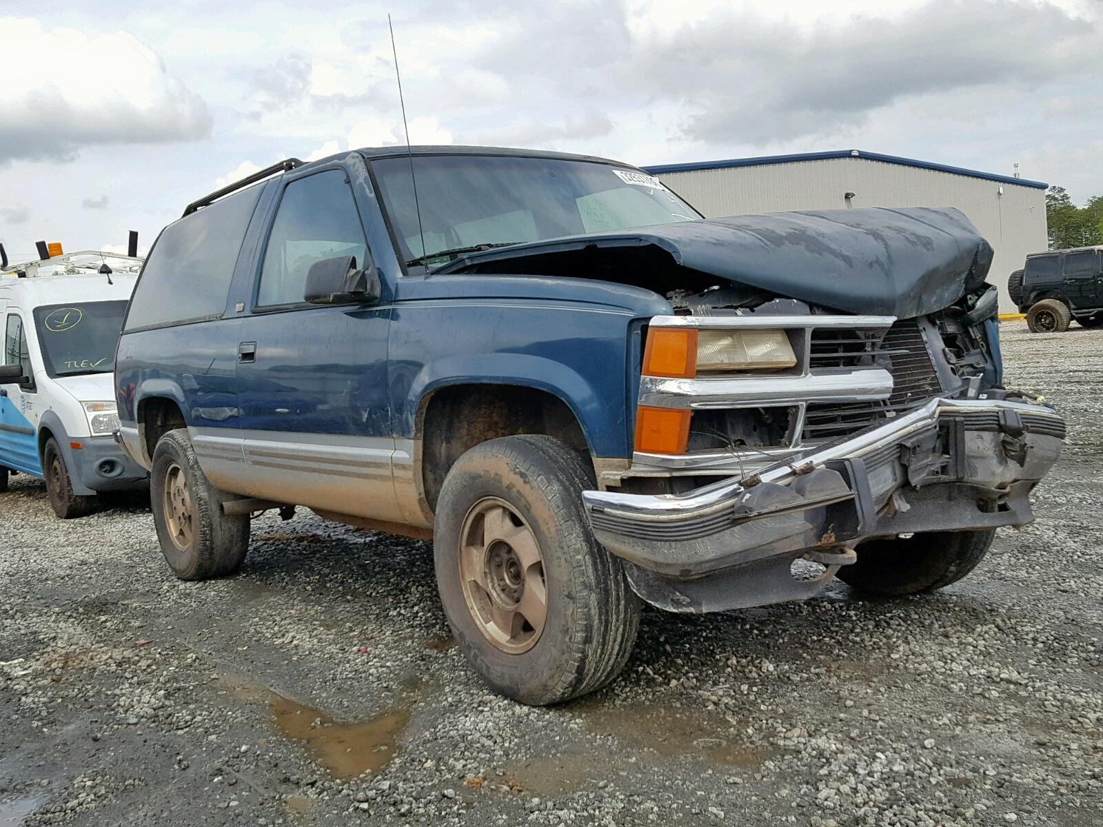 Salvage 1994 Chevrolet BLAZER K15 for sale