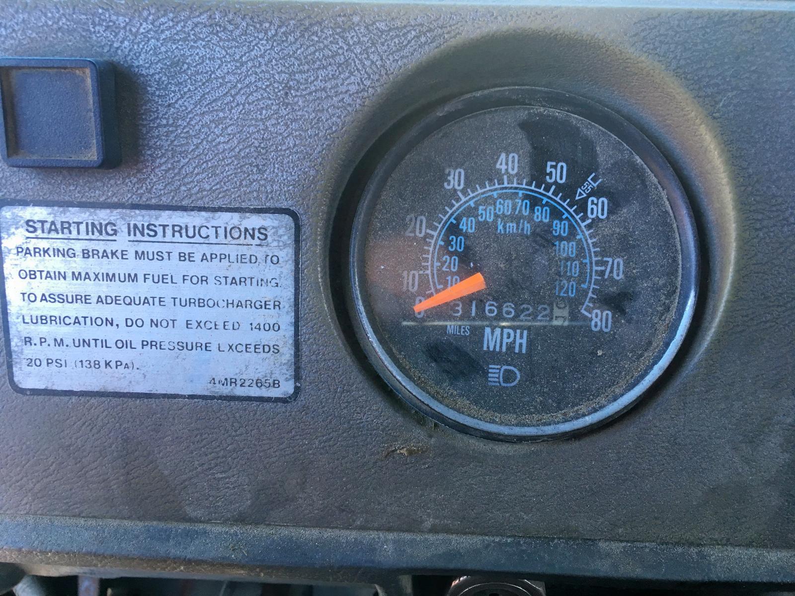 1988 Mack 600 Rd600 6 in MA - South Boston